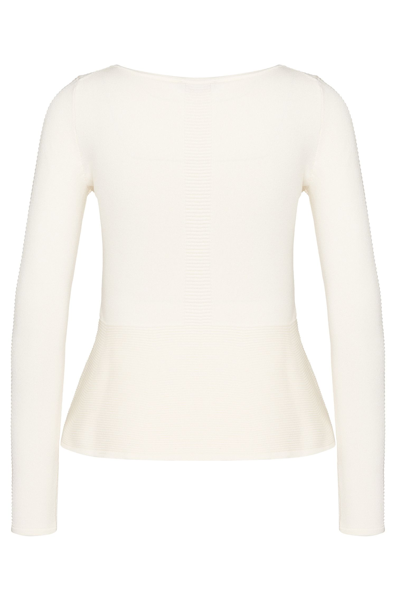 Pullover aus Viskose-Mix mit Struktur-Muster: 'Sibblet'