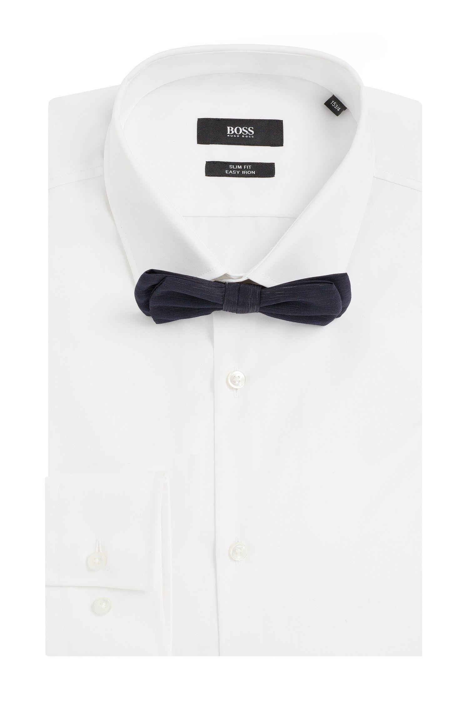 Vlinderdasje van een zijdemix met wol: 'Bow tie fashion'