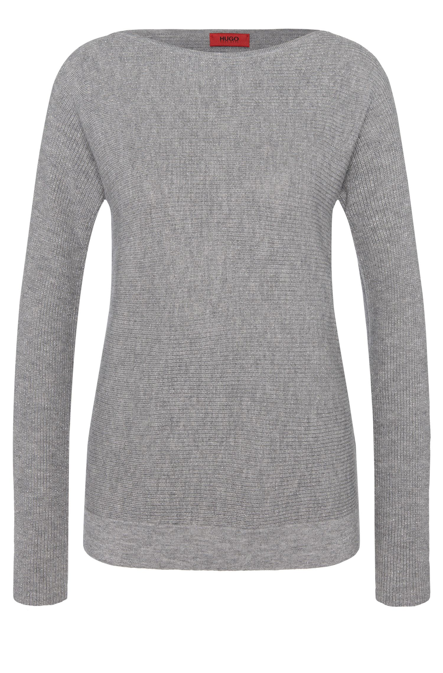 Sweater with metal fibres: 'Silona'