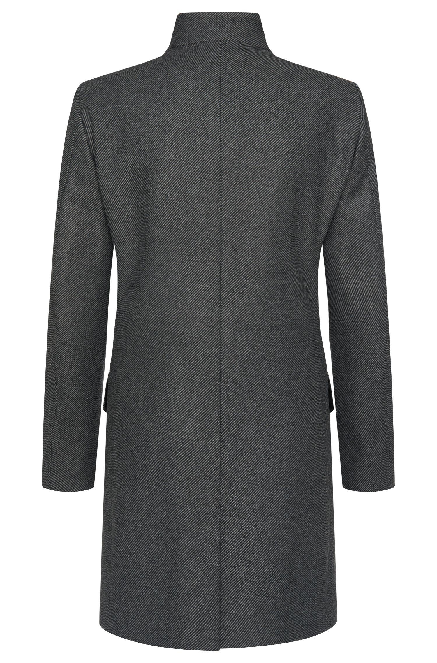 Manteau Regular Fit à rayures, en coton mélangé: «C-Sintrax»