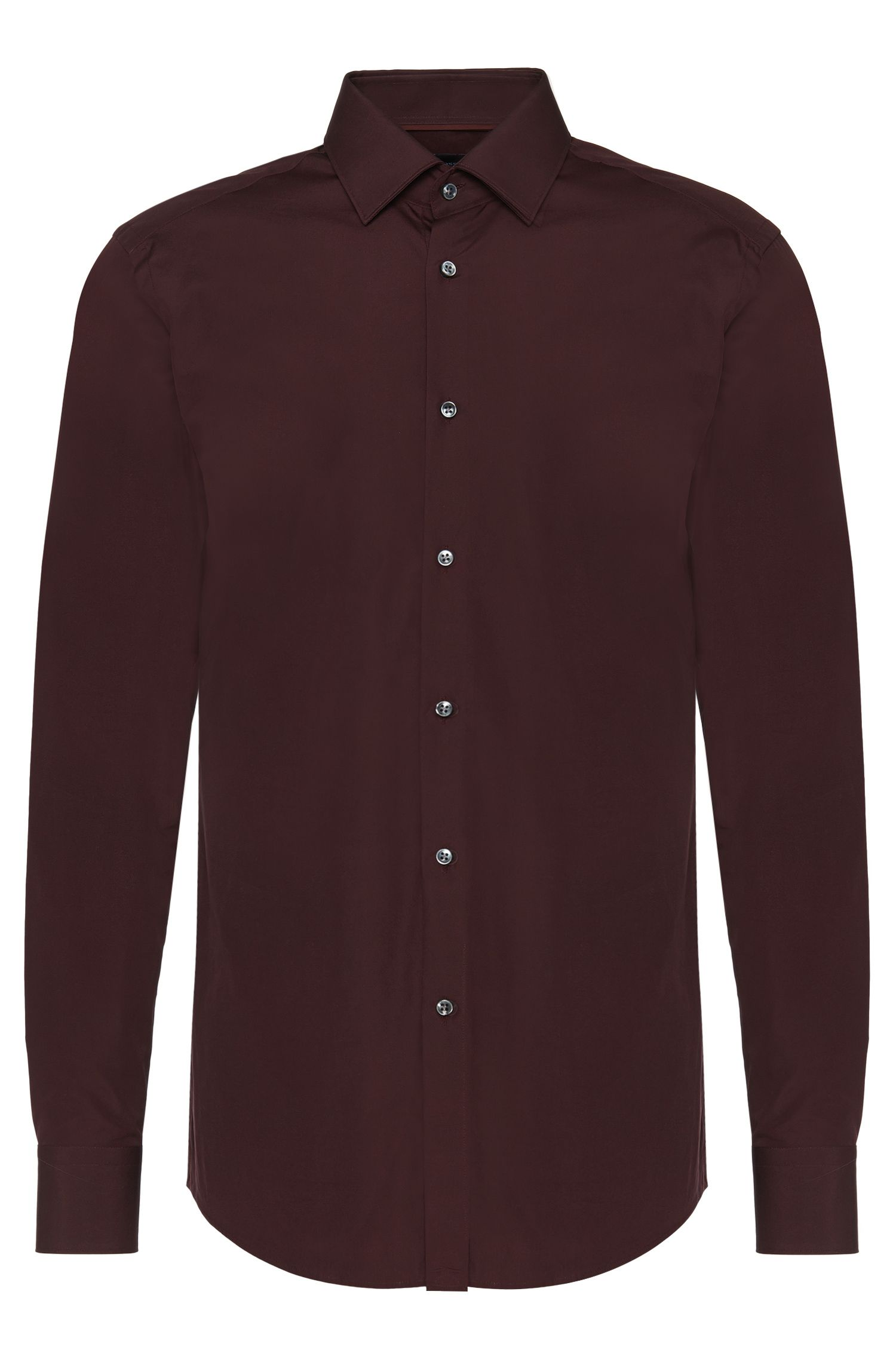 Camicia Tailored slim fit in puro cotone: 'T-Scott'