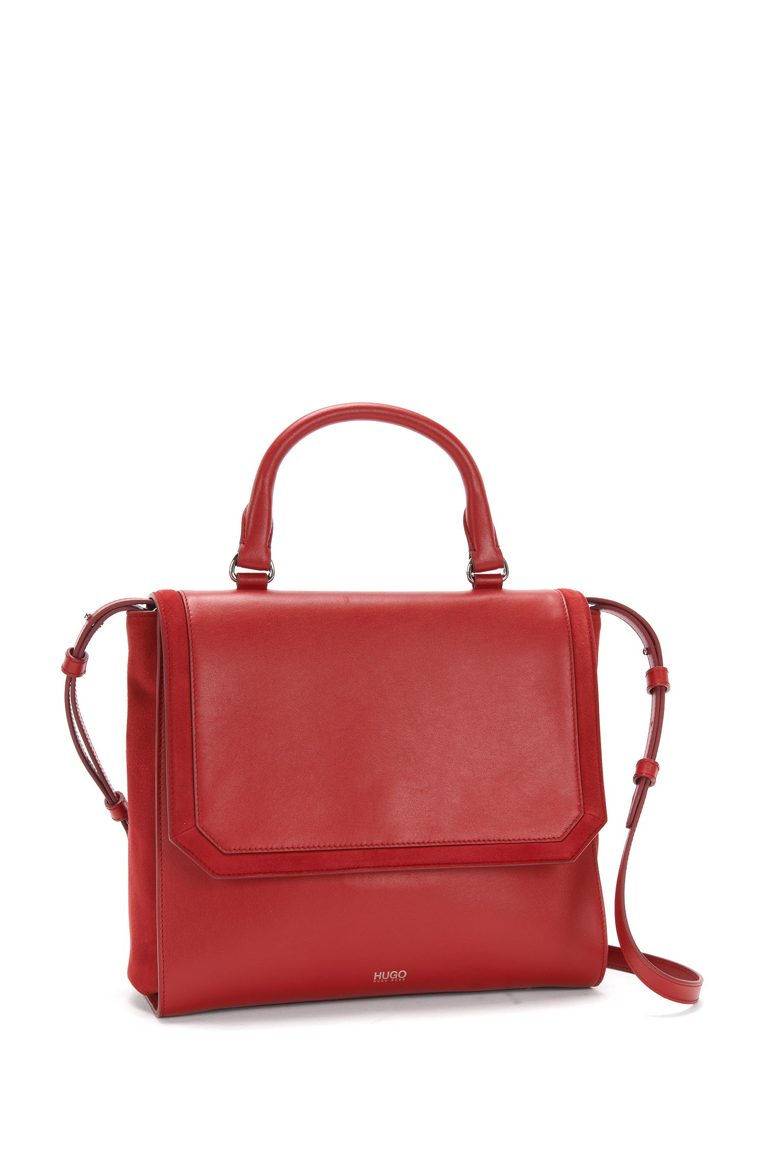 Sac en cuir de style top handle : « Florian »