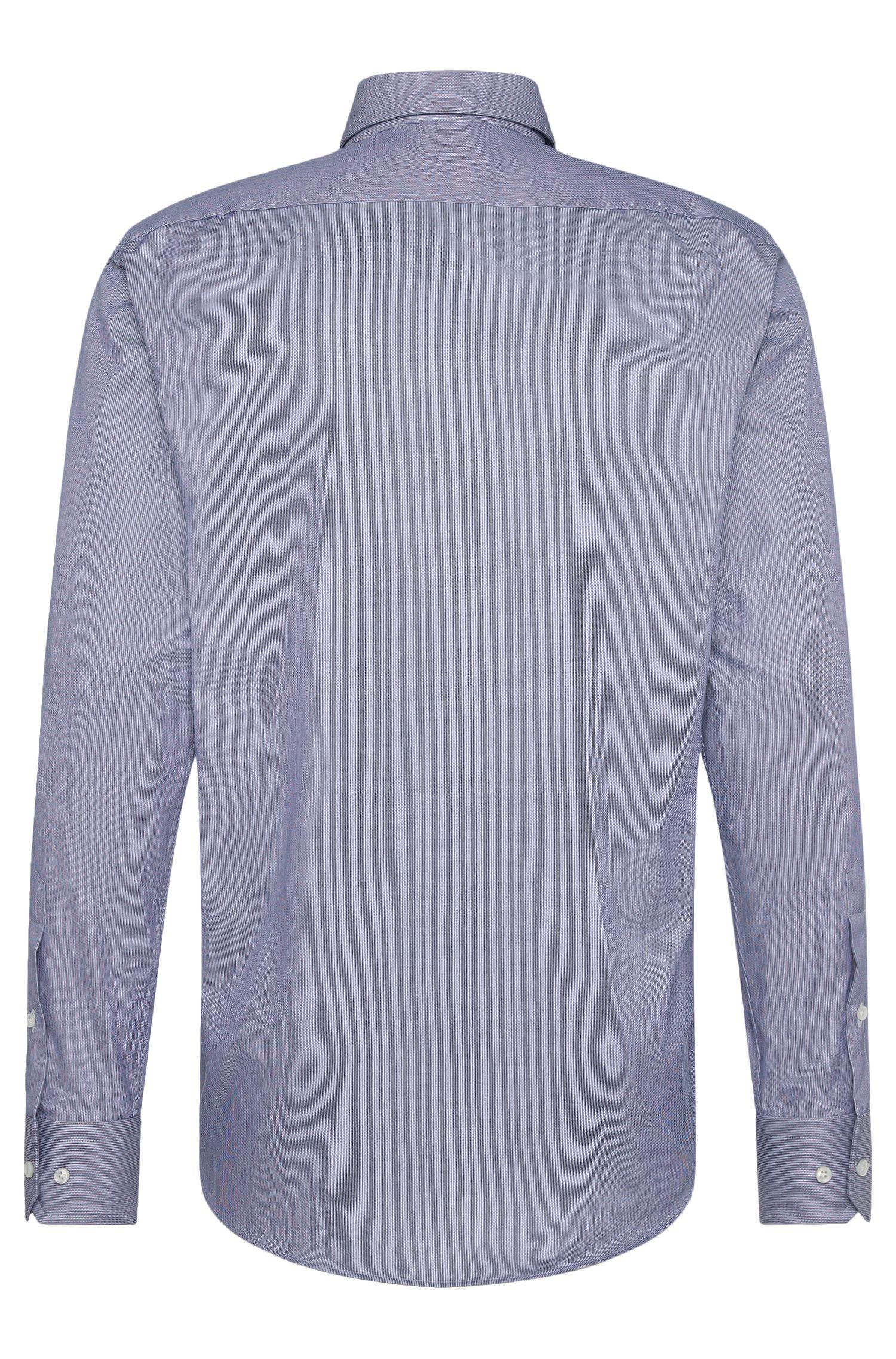 Gestreiftes Regular-Fit Tailored Hemd aus Baumwolle: 'T-Stuart'