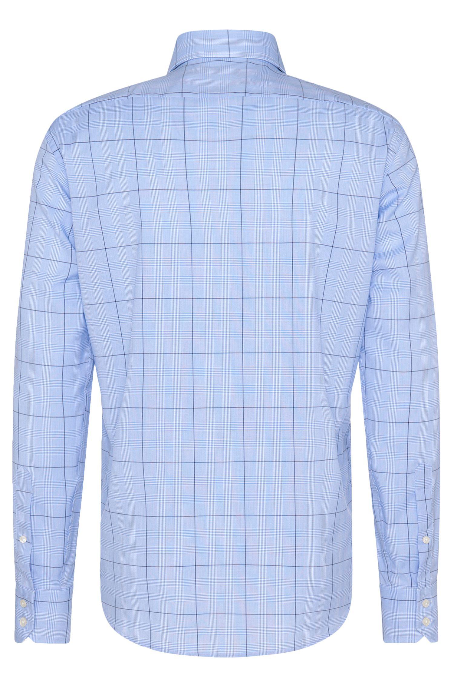 Kariertes Regular-Fit Hemd aus reiner Baumwolle: 'Gordon'