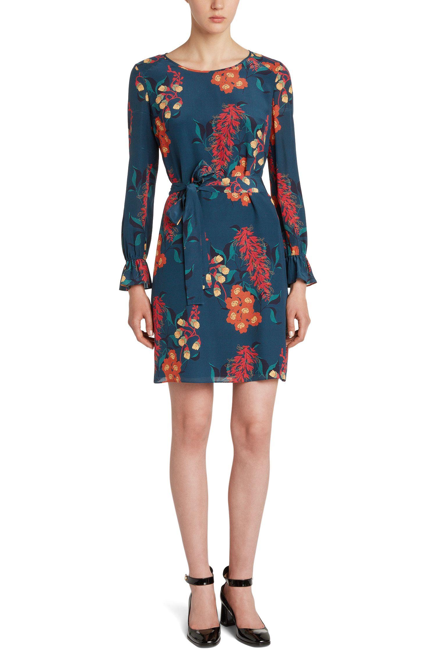 Seidenkleid mit floralem Muster: 'Kosas'