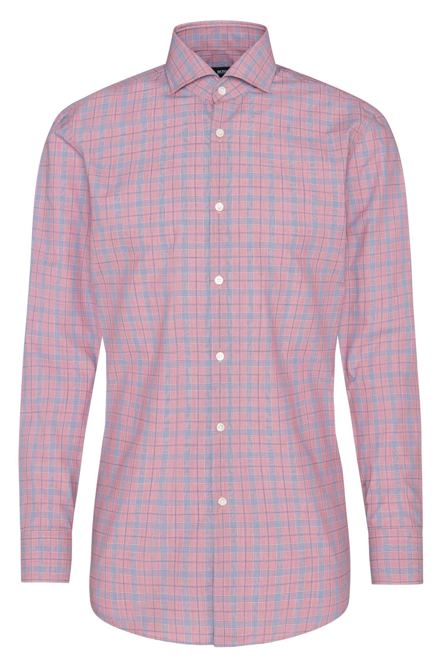 Kariertes Slim-Fit Hemd aus Baumwolle: 'Mark US'