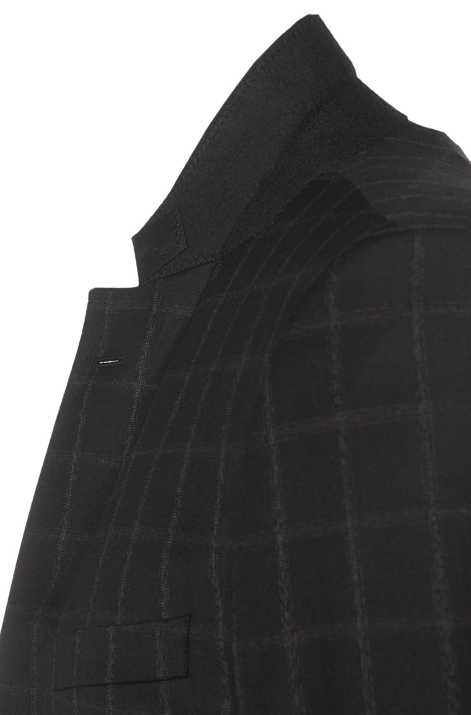Slim-fit kostuum van scheerwol uit de Tailored-collectie: 'T-Harvers2/Glover1'