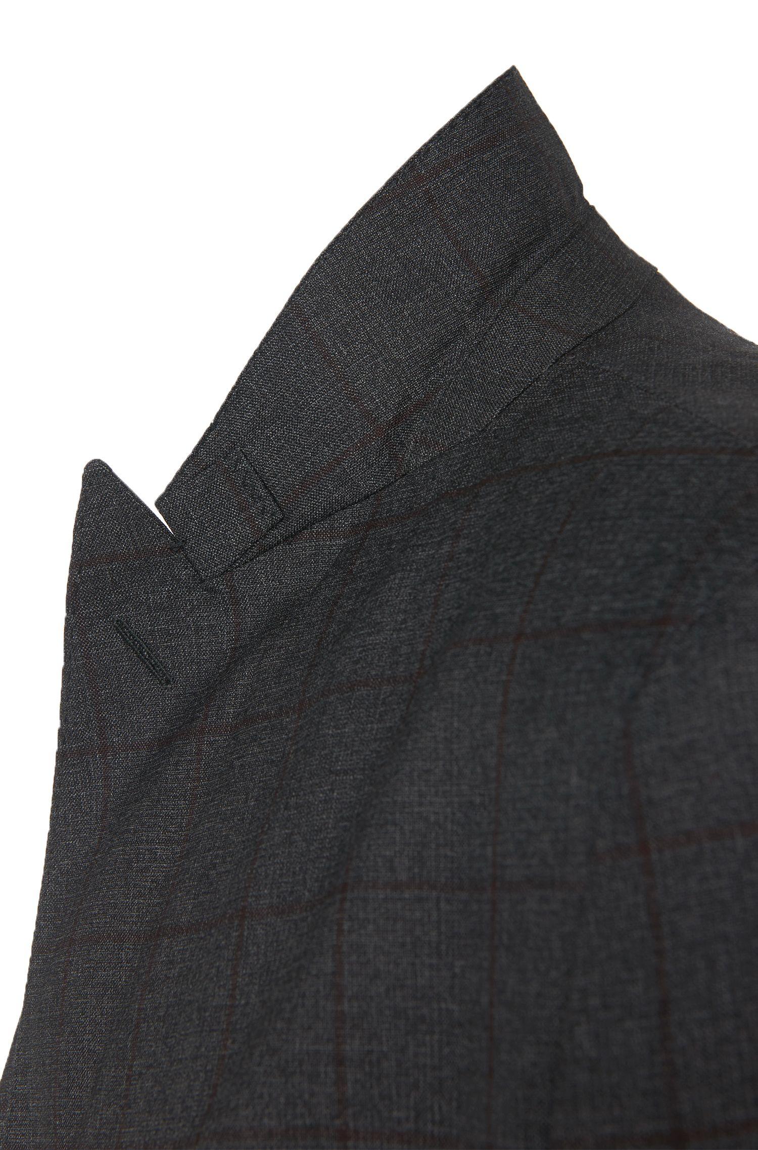 Slim-Fit Tailored Anzug aus Schurwolle: 'T-Noan/Baron'