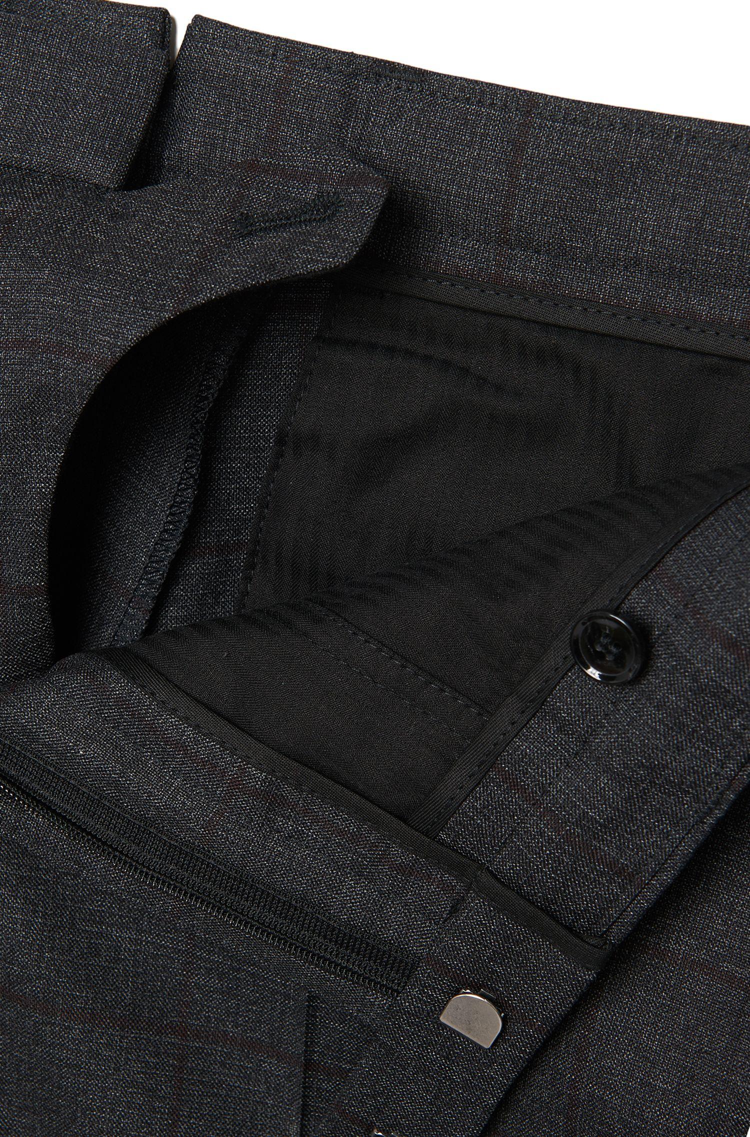 Costume Slim Fit Tailored en laine vierge: «T-Noan/Baron»