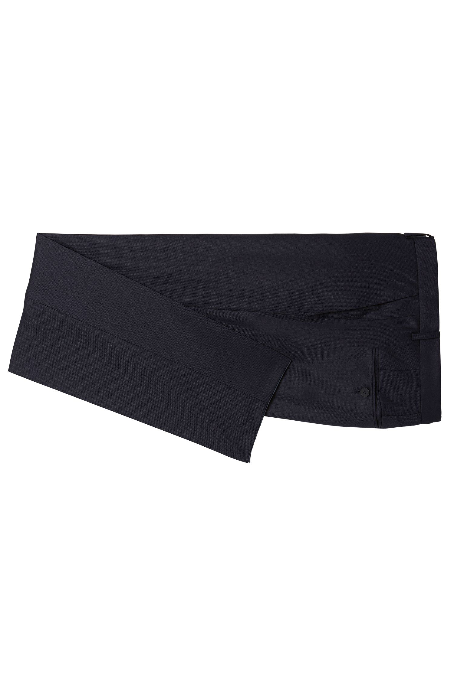 Costume Slim Fit Travel Line en laine vierge : « Nestro/Byte1 »