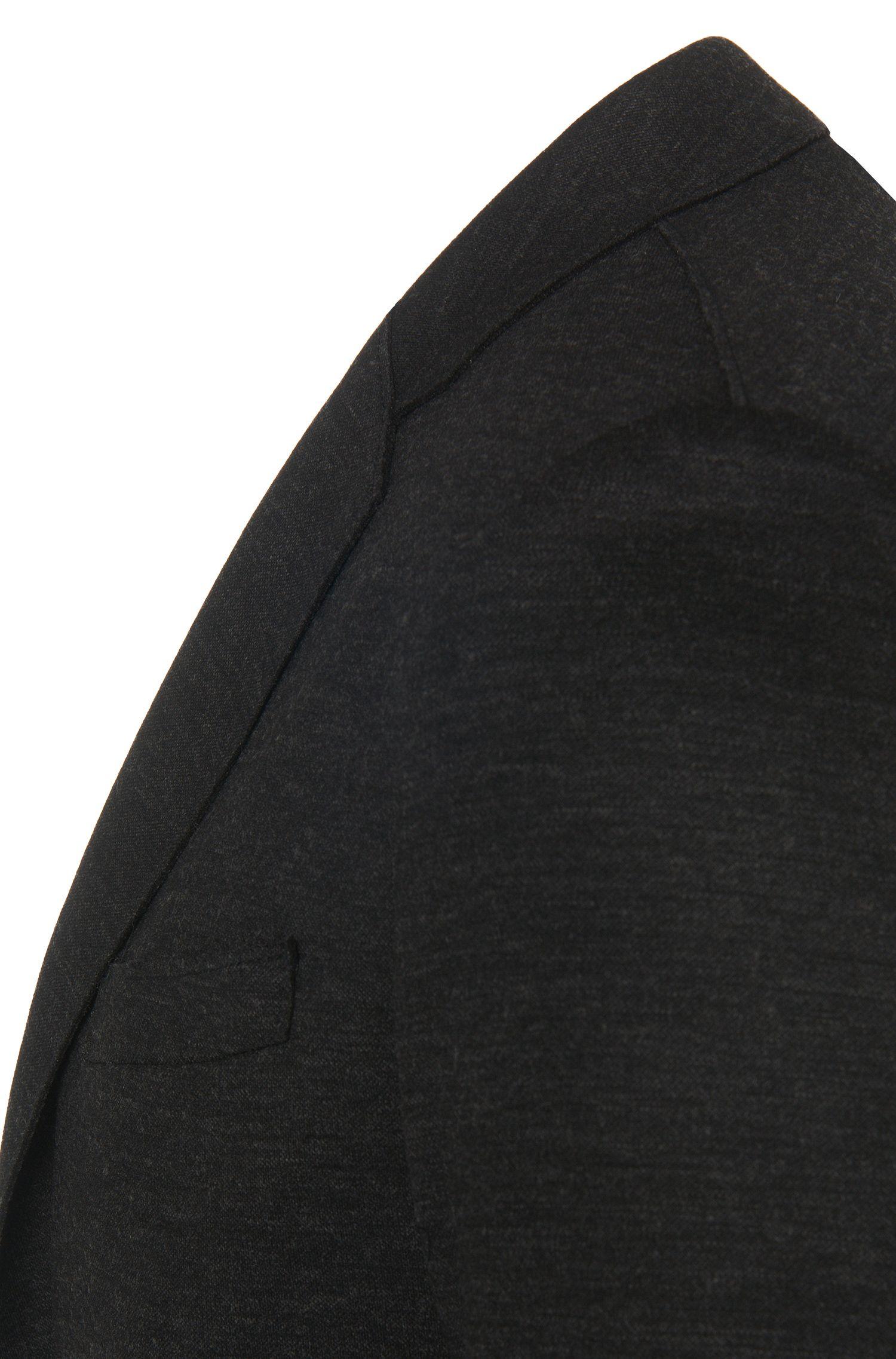 Costume Slim-Fit chiné de qualité Jersey: «Natan/Bruce»