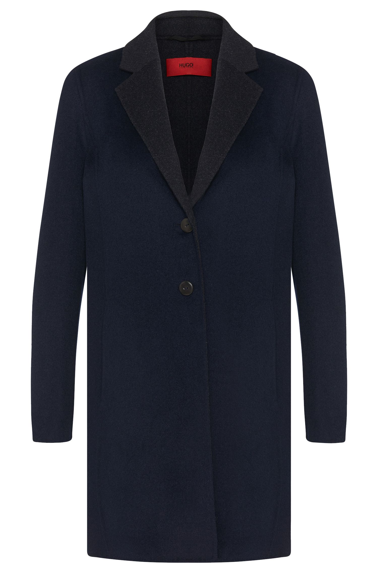 Coat in wool blend with viscose: 'Milottes-1'
