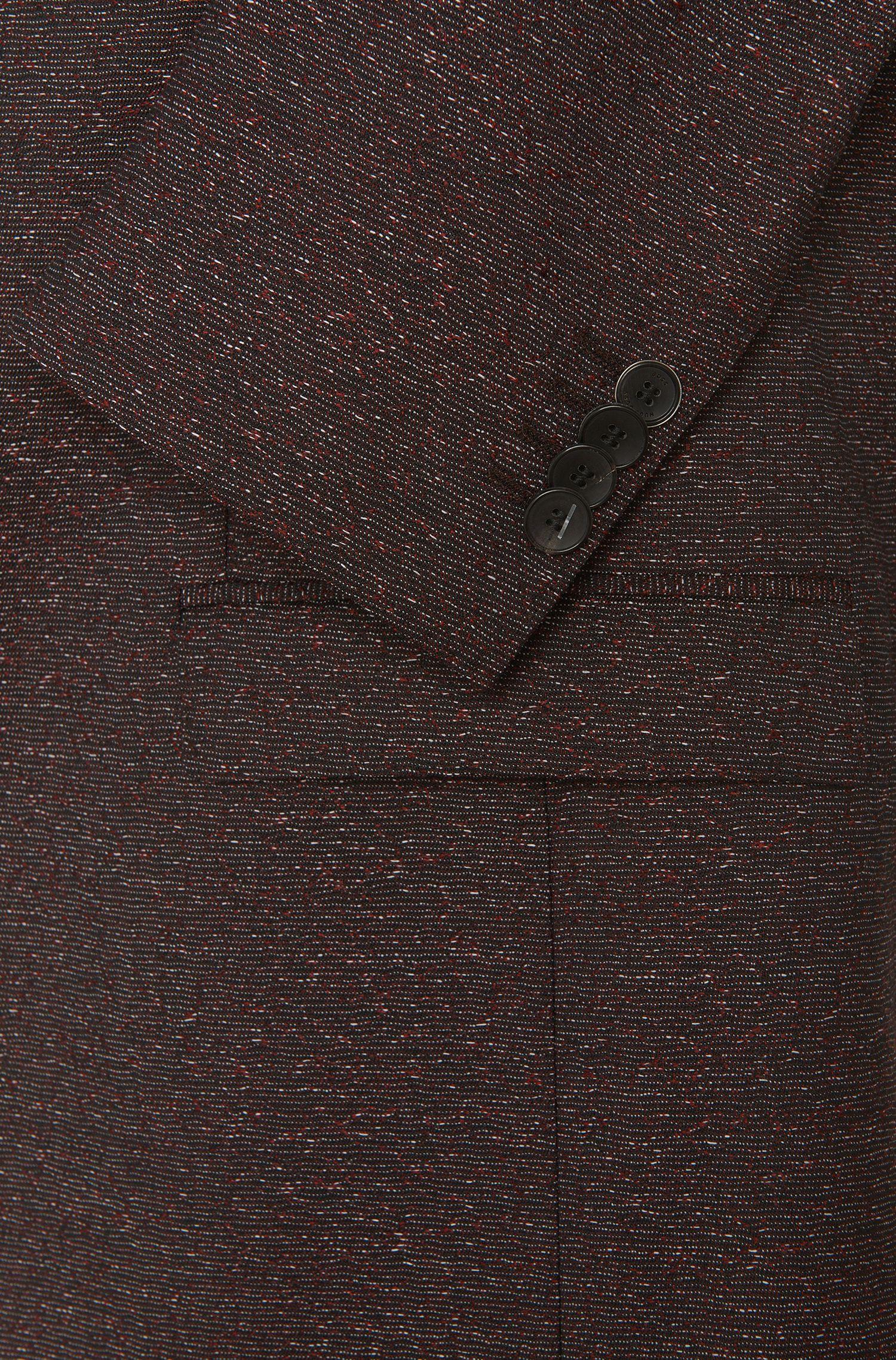 Costume à motif Extra Slim Fit en laine vierge: «Reyno2/Wave1»