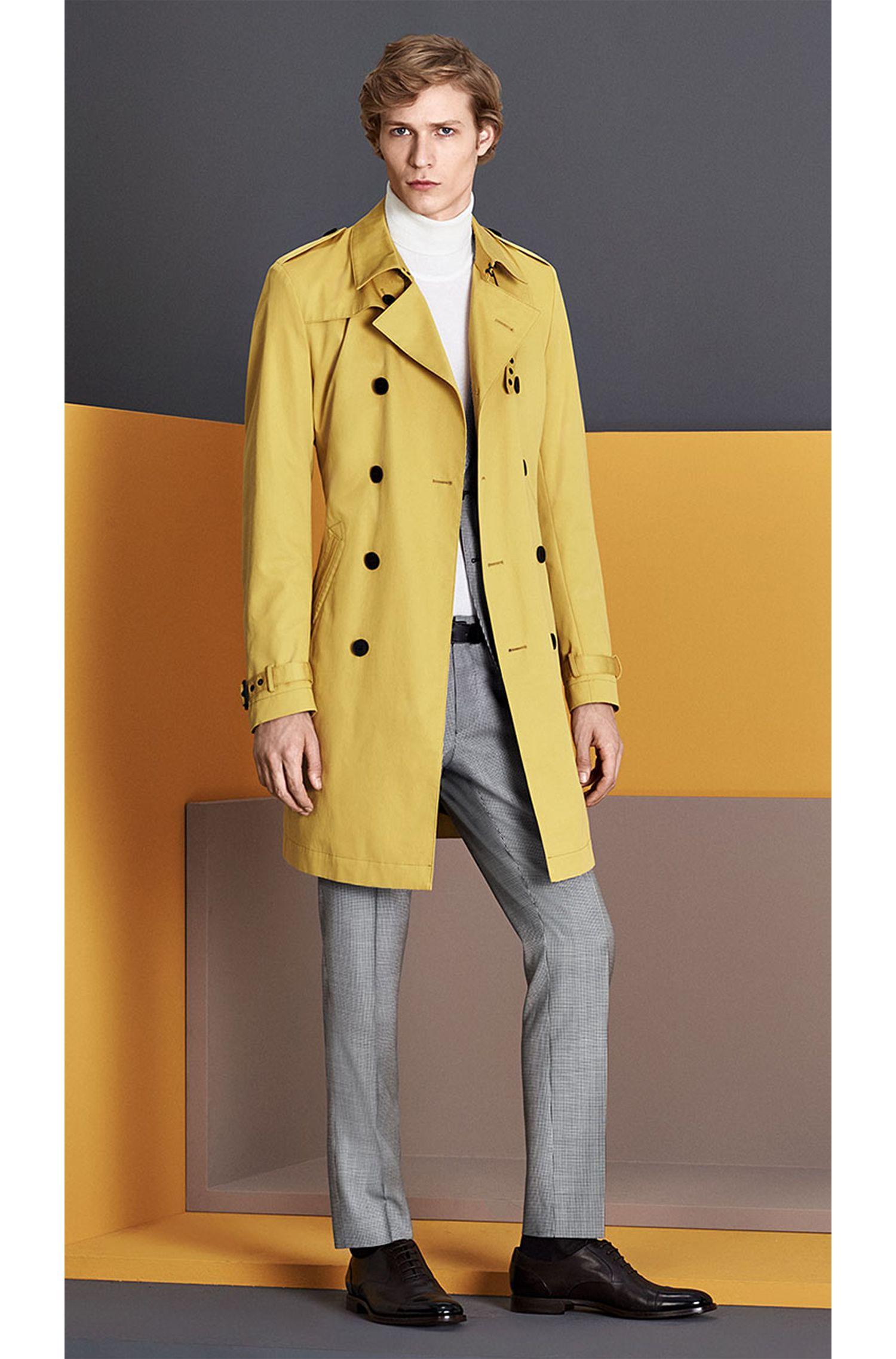 Costume Extra Slim Fit en laine vierge, à motif pied-de-poule: «Rocco1/Wyatt»