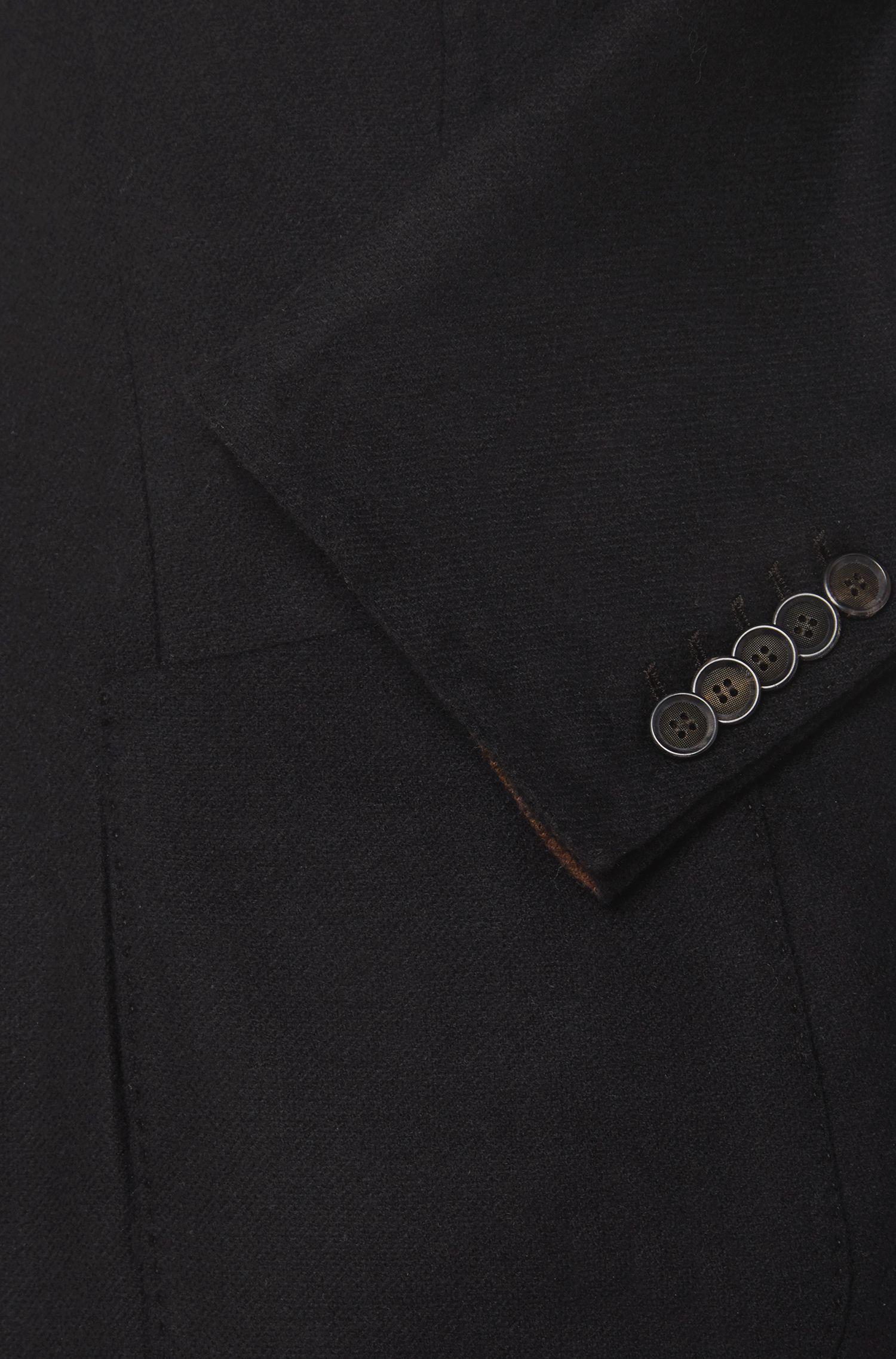 Veste de costume Slim Fit Tailored en laine vierge mélangée, avec du cachemire: «T-Neavon»