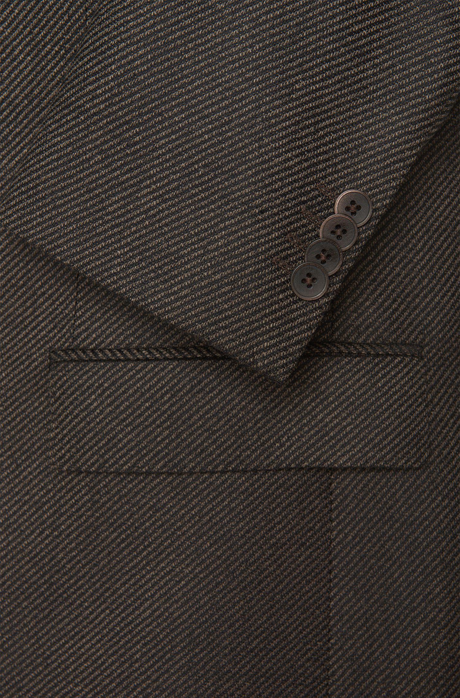 Veste de costume Regular Fit en laine vierge à rayures: «Jewels»