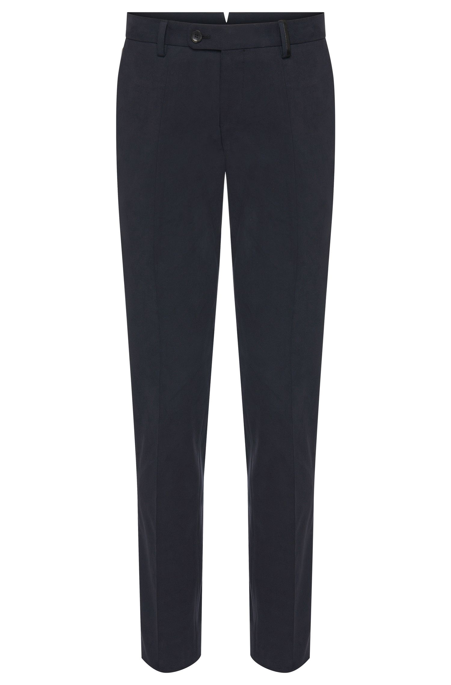 Pantalon Slim Fit Tailored en coton : « T-Gilsen »