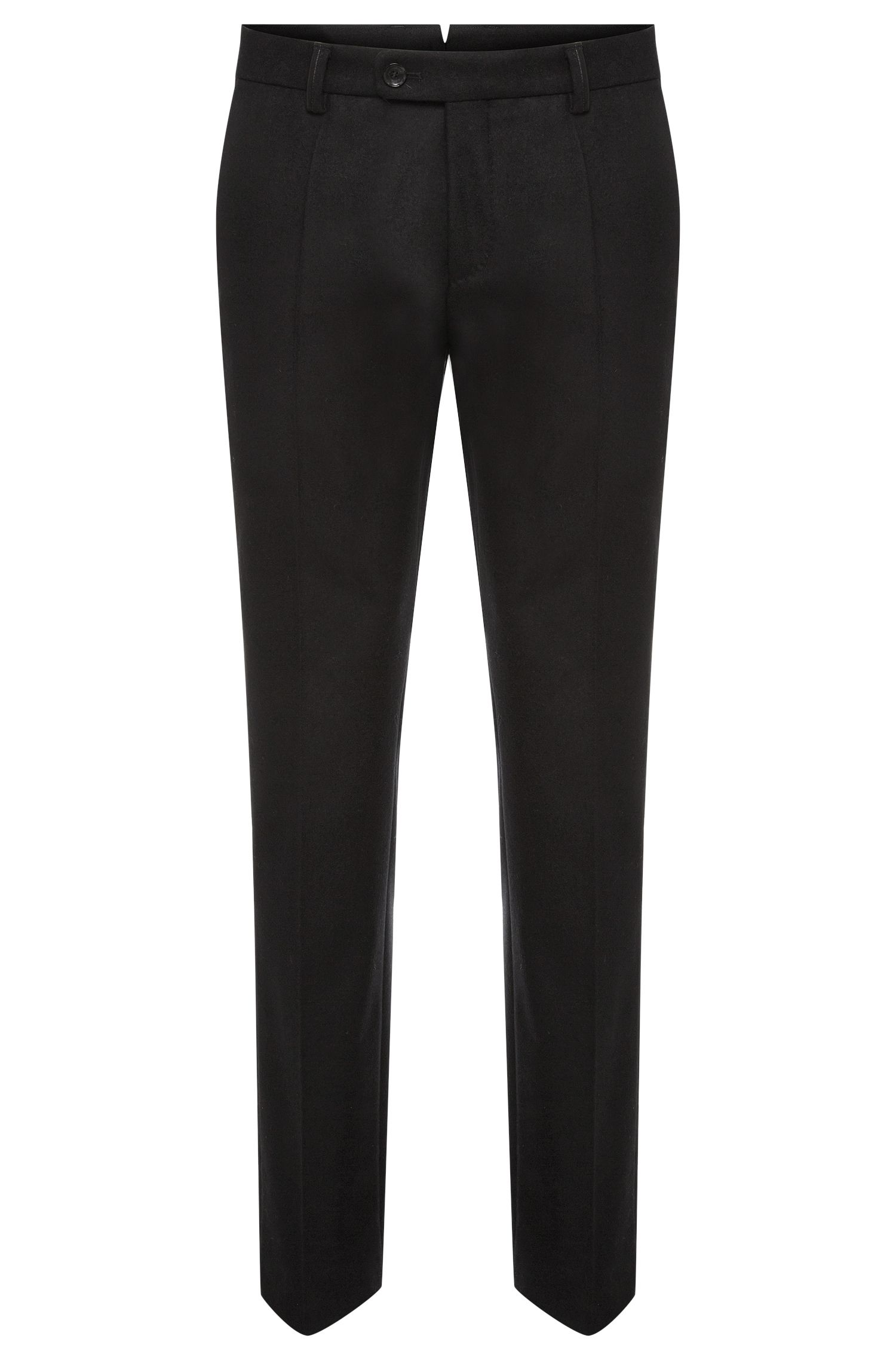 Pantaloni slim fit Tailored in lana vergine: 'T-Gilsen'