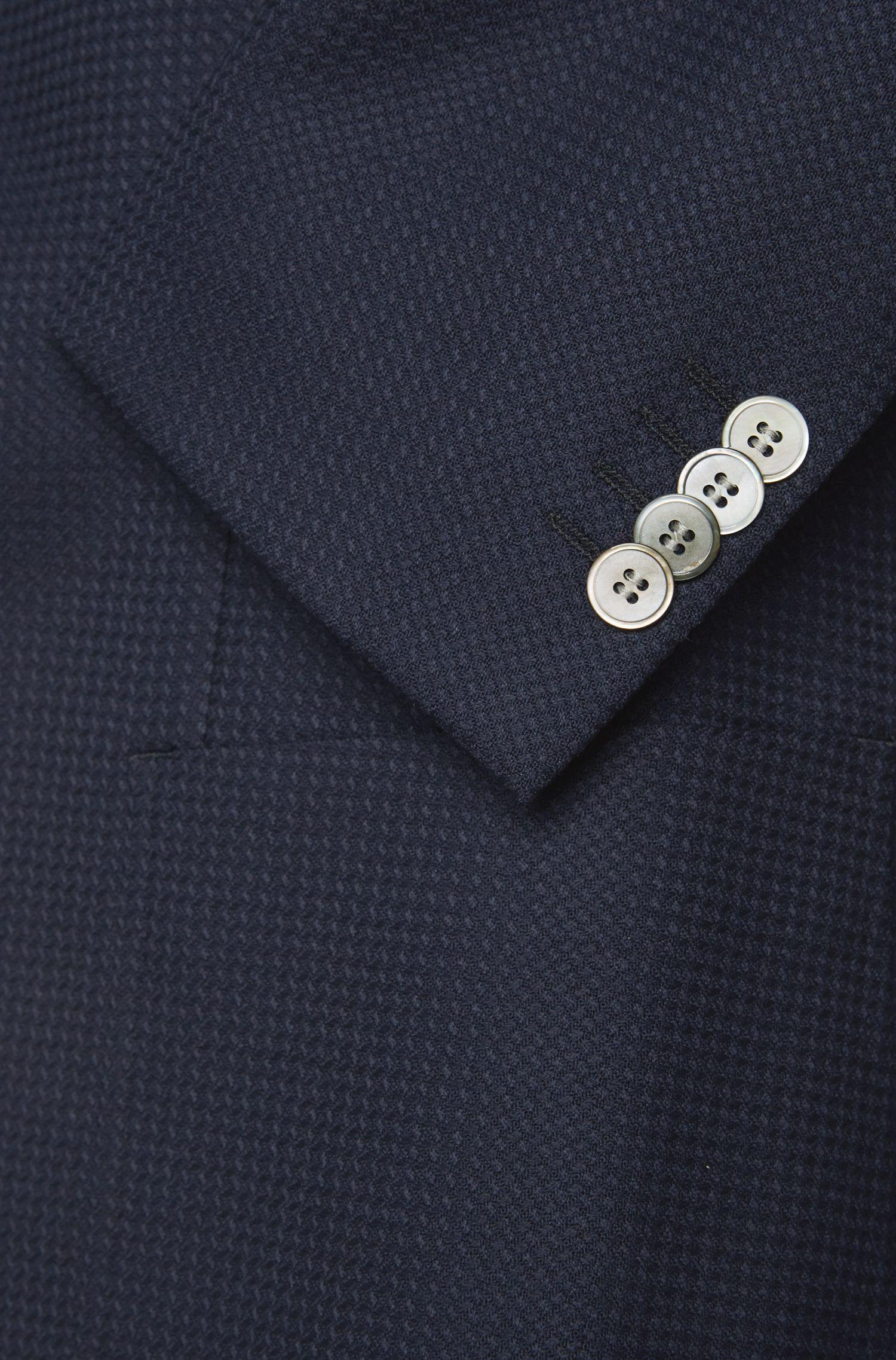 Extra Slim-Fit Sakko aus Schurwolle mit aufgesetzten Taschen: 'Raye5'