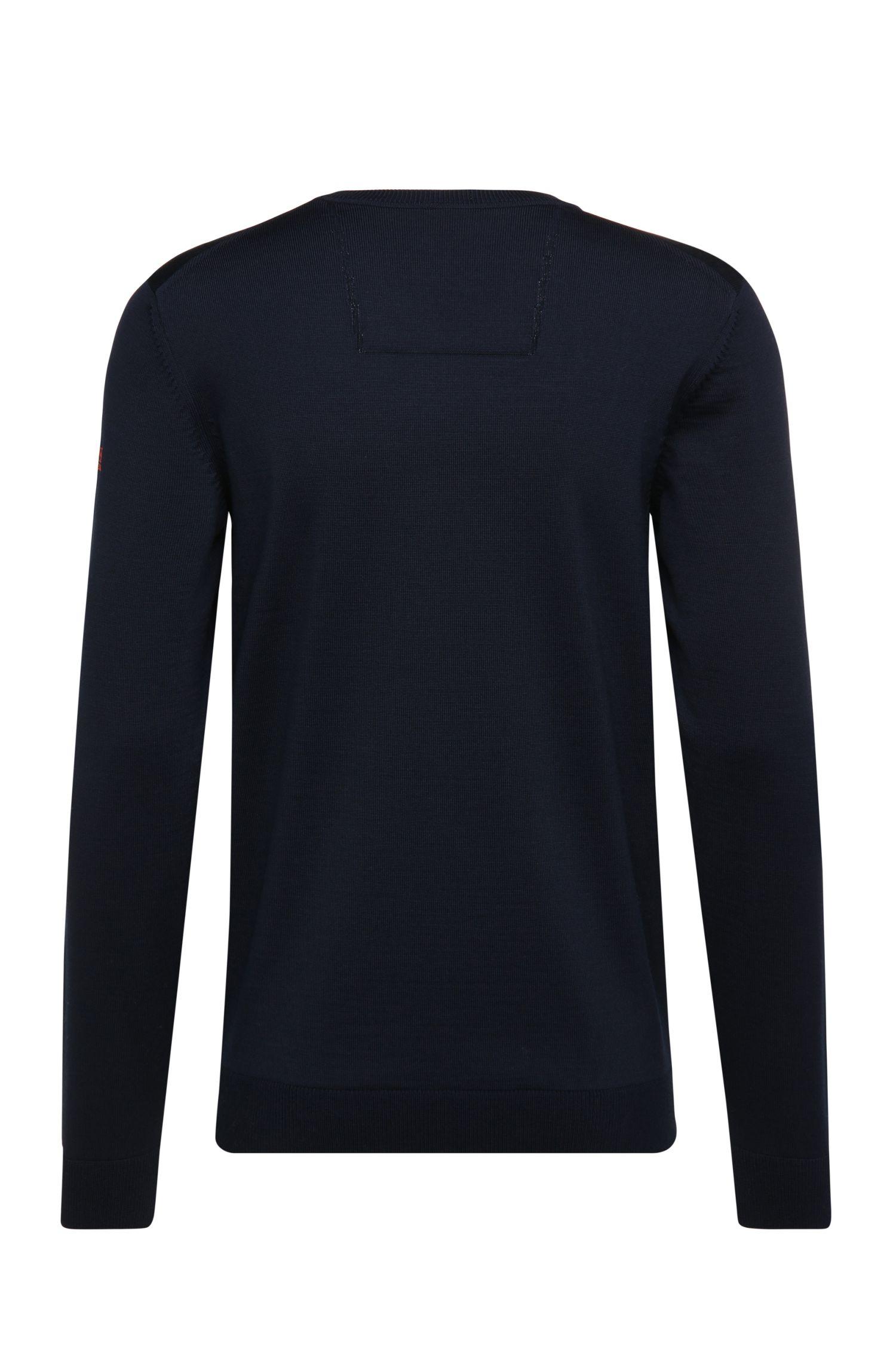 Regular-fit trui van scheerwol: 'Veeh_02'