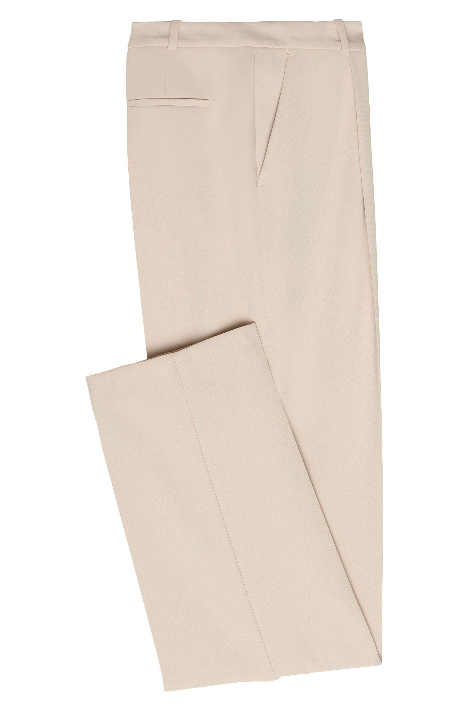 Relaxed-fit broek met scherpe vouwen: 'Arula'
