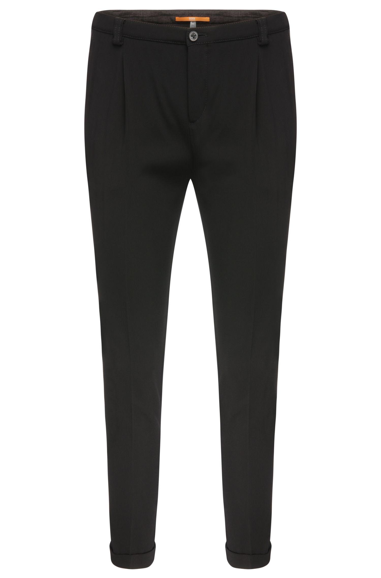Pantaloni comfort fit in misto viscosa elasticizzata: 'Sacupra'