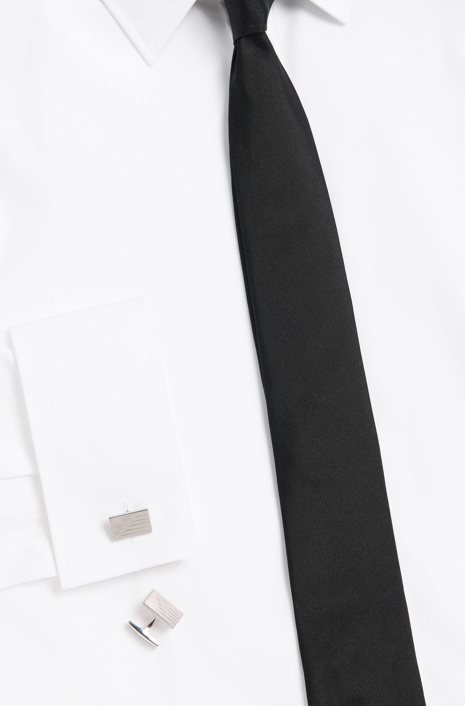 Tailored Manschettenknöpfe aus Messing mit Diamantenschliff: 'T-Bastian'