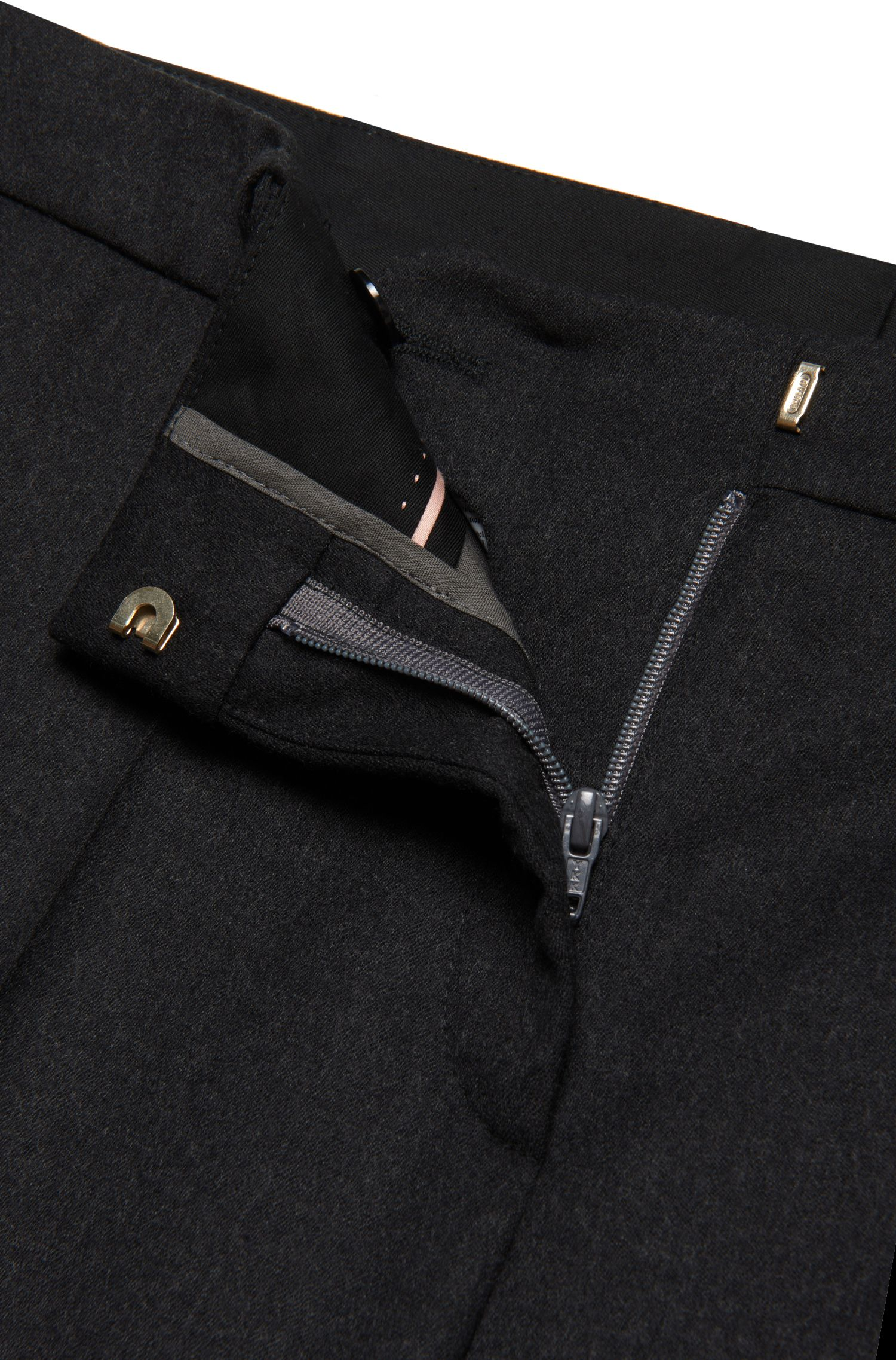 Standard-Fit Hose aus Stretch-Schurwolle: 'Tamea1'