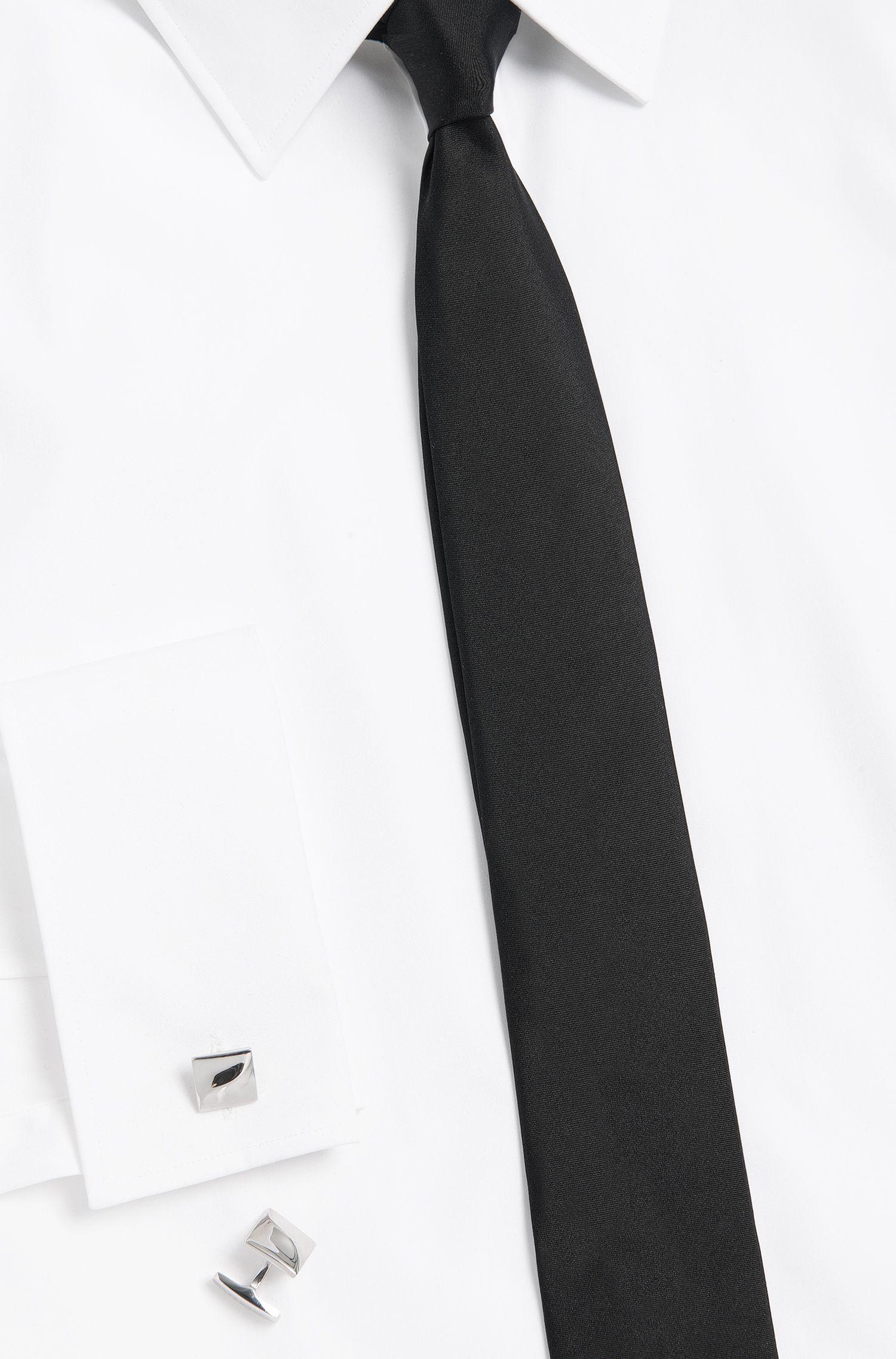Rhodinierte Tailored Manschettenknöpfe aus Messing: 'T-Samuel'