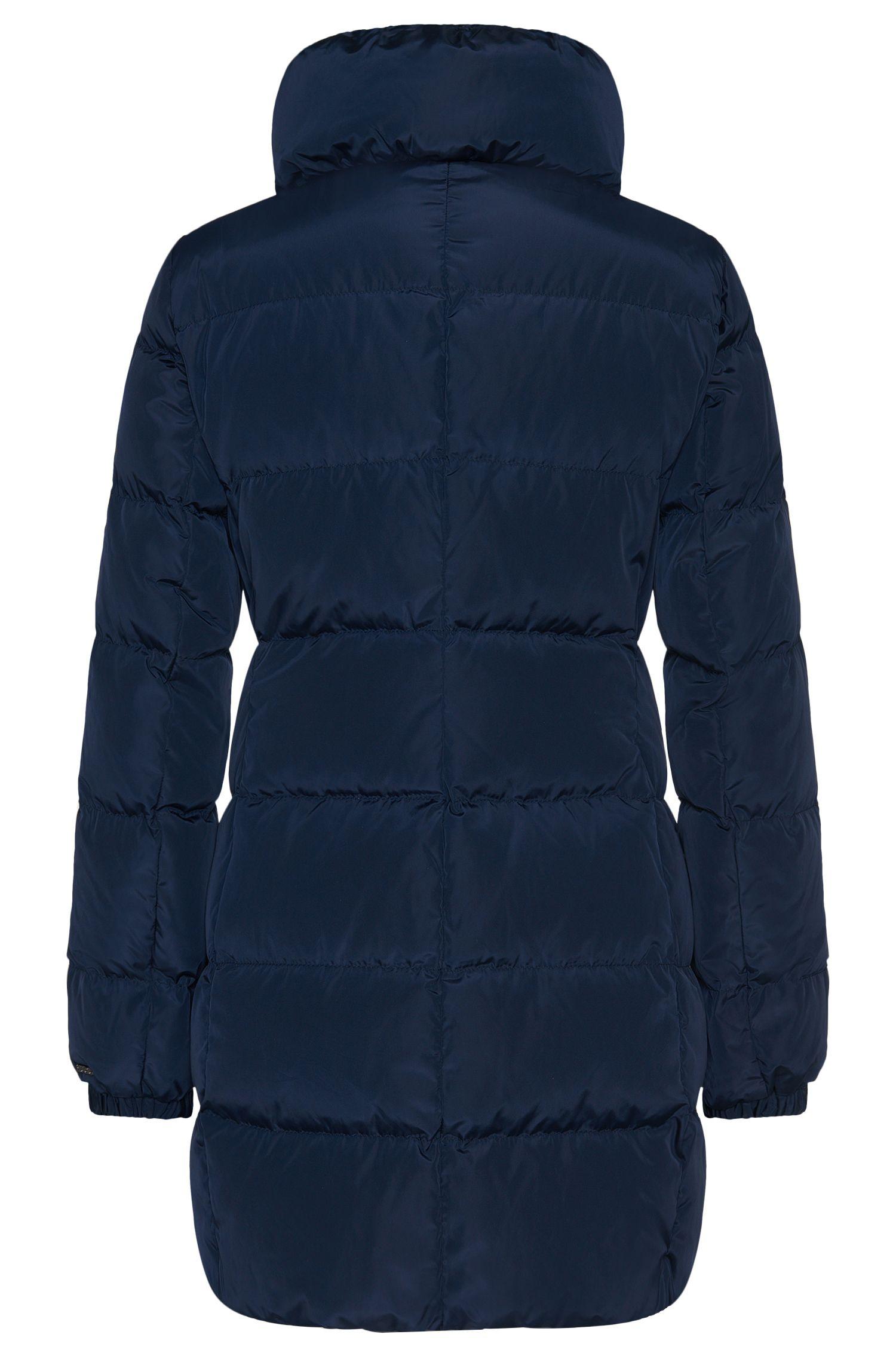 Manteau doudoune à col mao très haut: «Finjas»