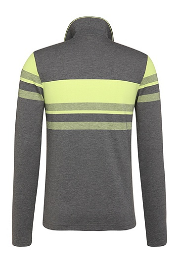 Slim-Fit Longsleeve-Polo aus Baumwoll-Mix: ´Pleesy 1`, Grau