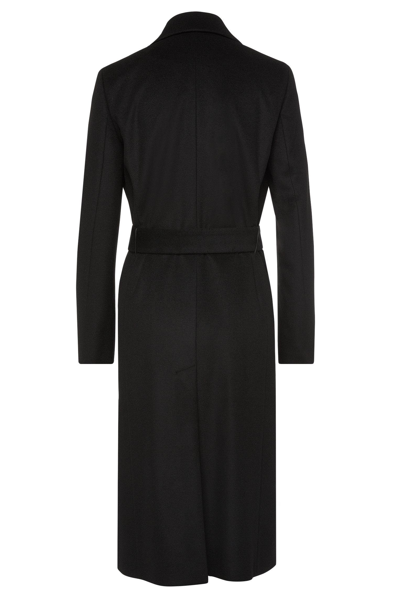 Manteau en laine vierge mélangée à teneur en cachemire: «Moona»