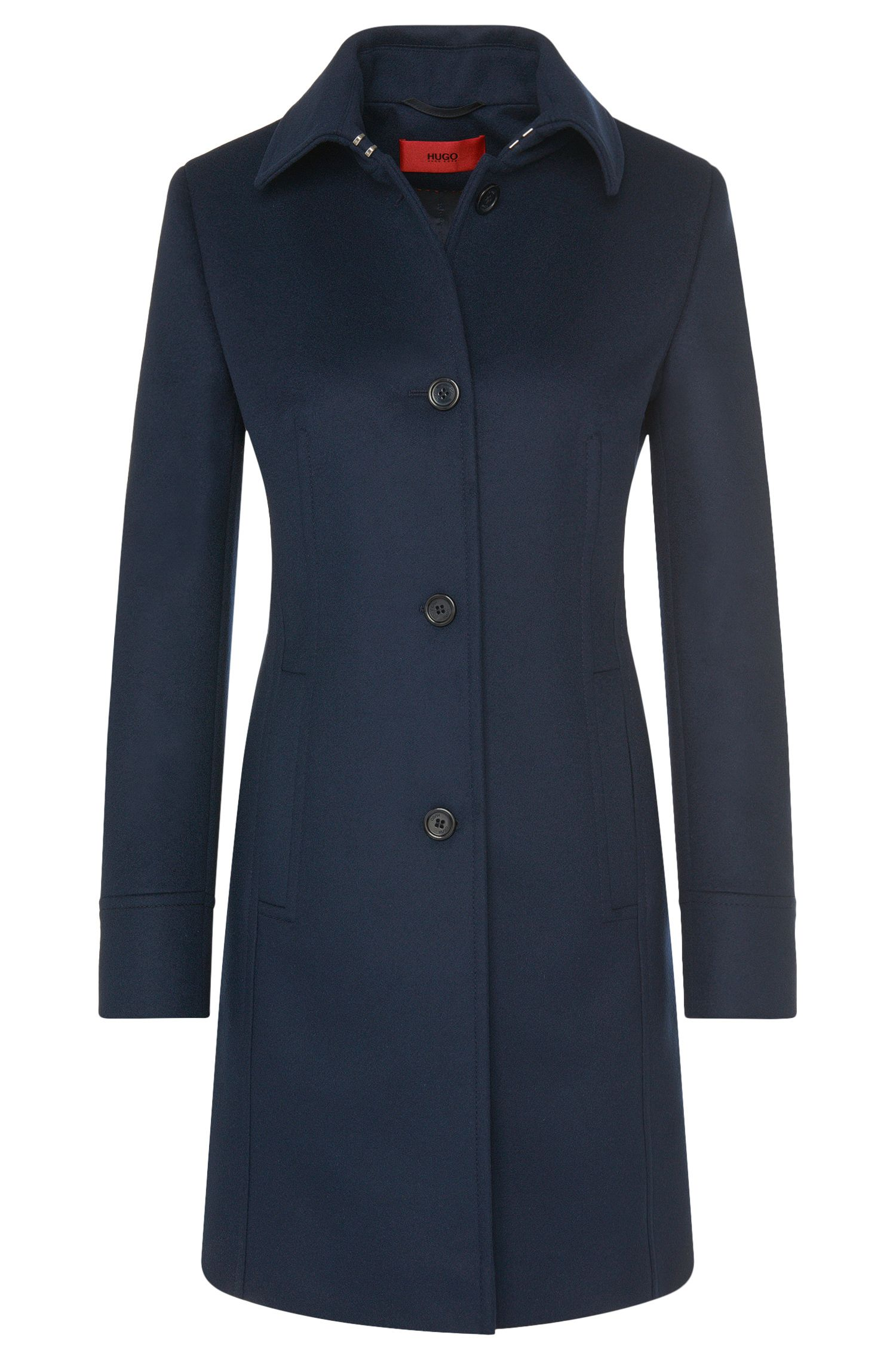 Coat in a new-wool blend with cashmere: 'Malayle'