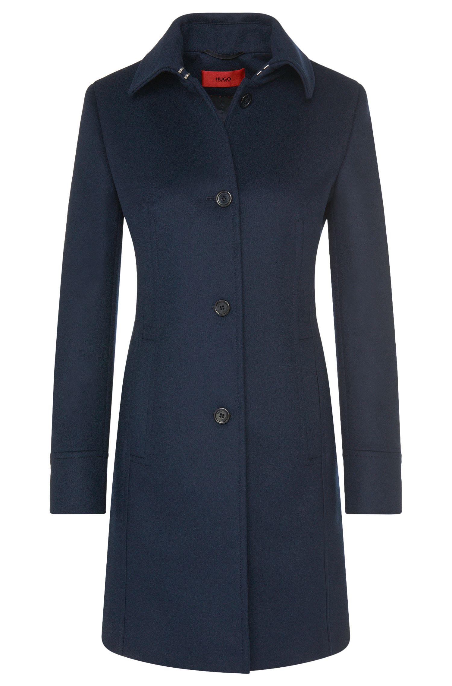 Manteau en laine vierge mélangée à teneur en cachemire: «Malayle»