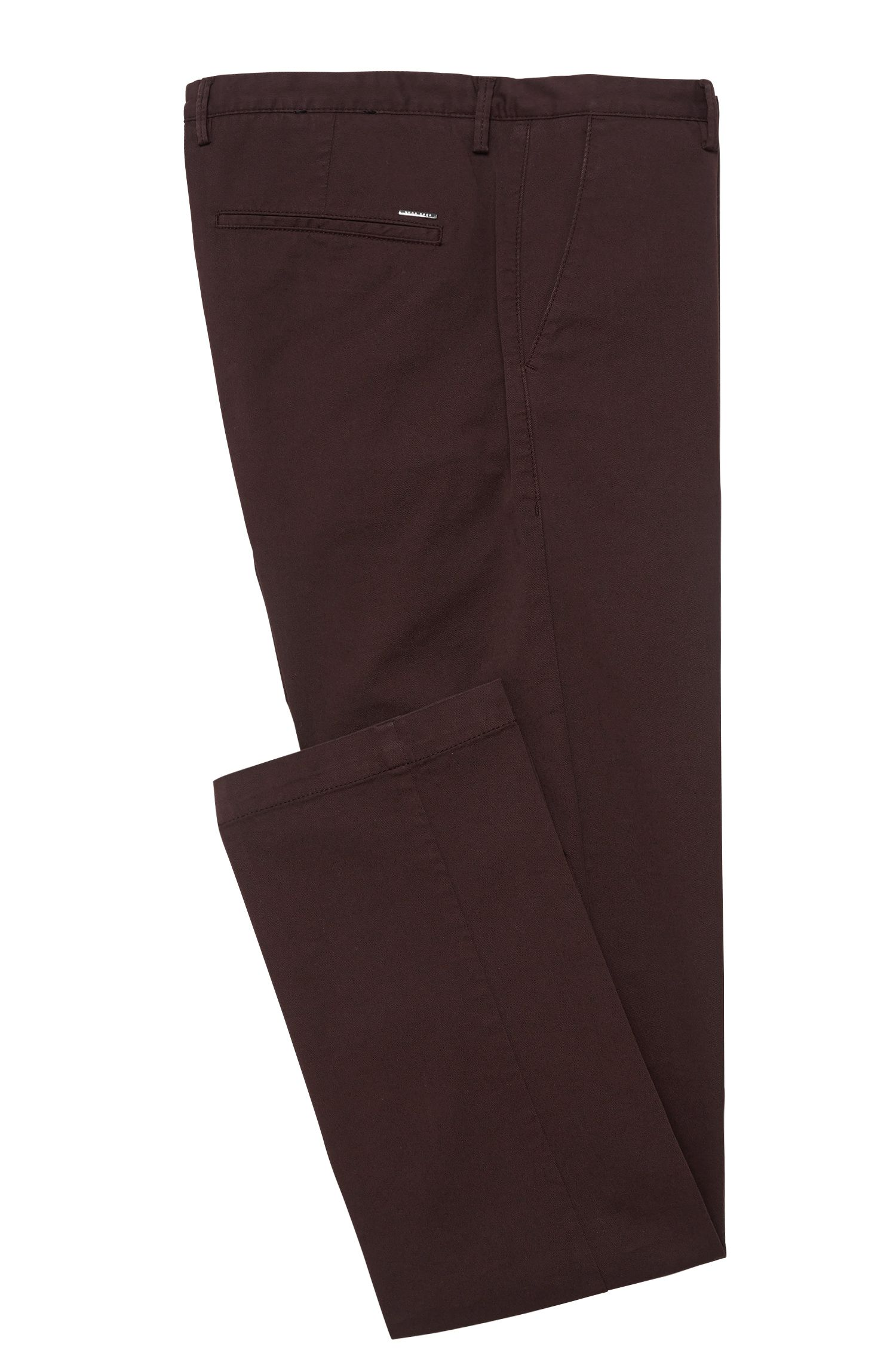 Chino Slim Fit en coton stretch : « Rice3-D »