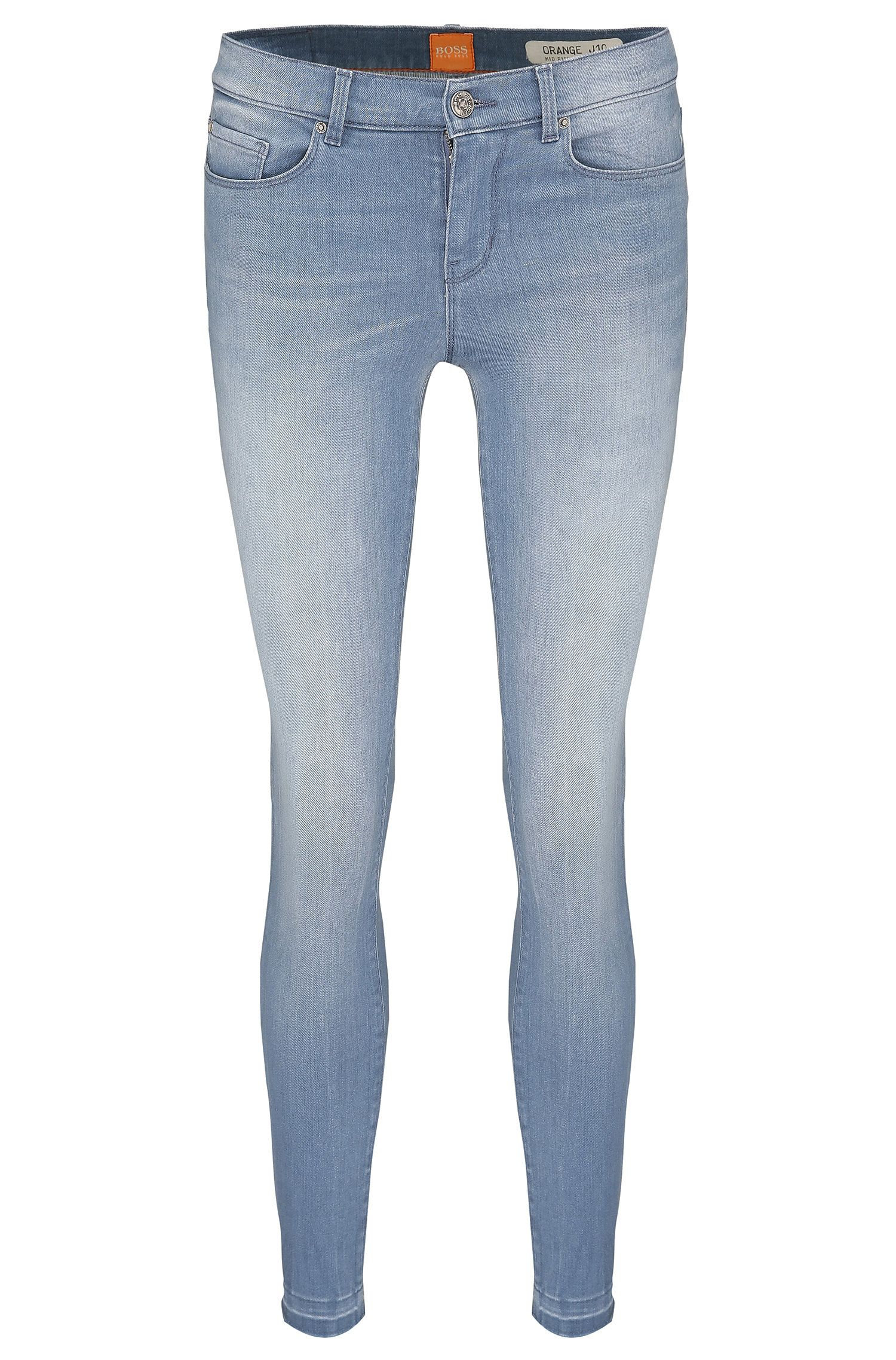 Skinny fit jeans in stretch cotton: 'Orange J10 Florida'