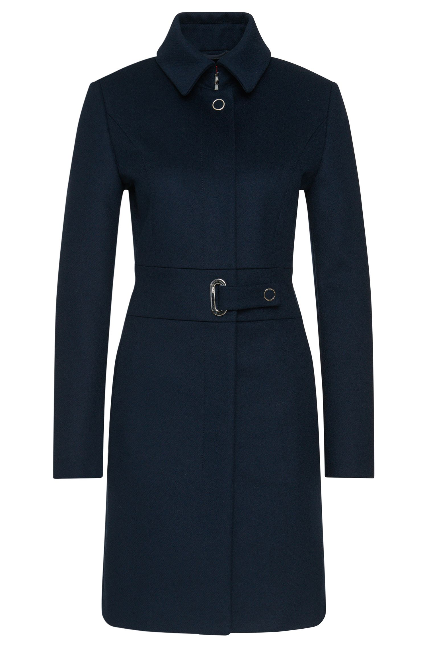 Coat in new-wool blend with cashmere 'Marra'