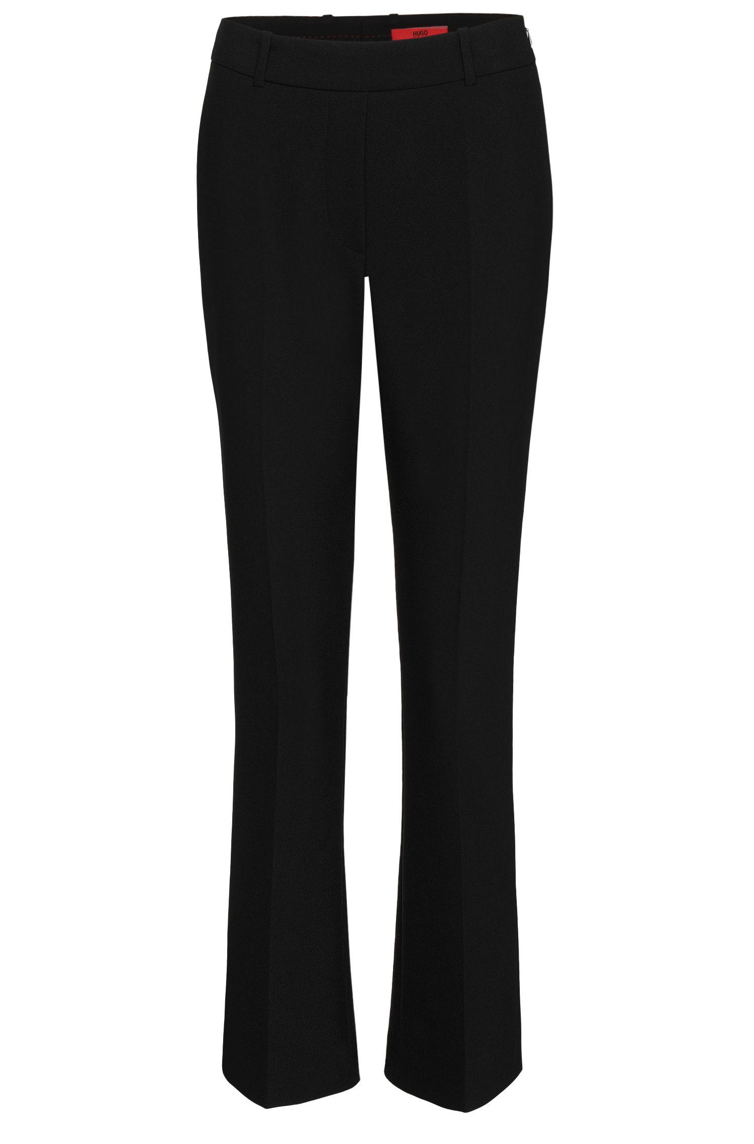 High-Waisted Hose mit Bügelfalten: 'Hanane'