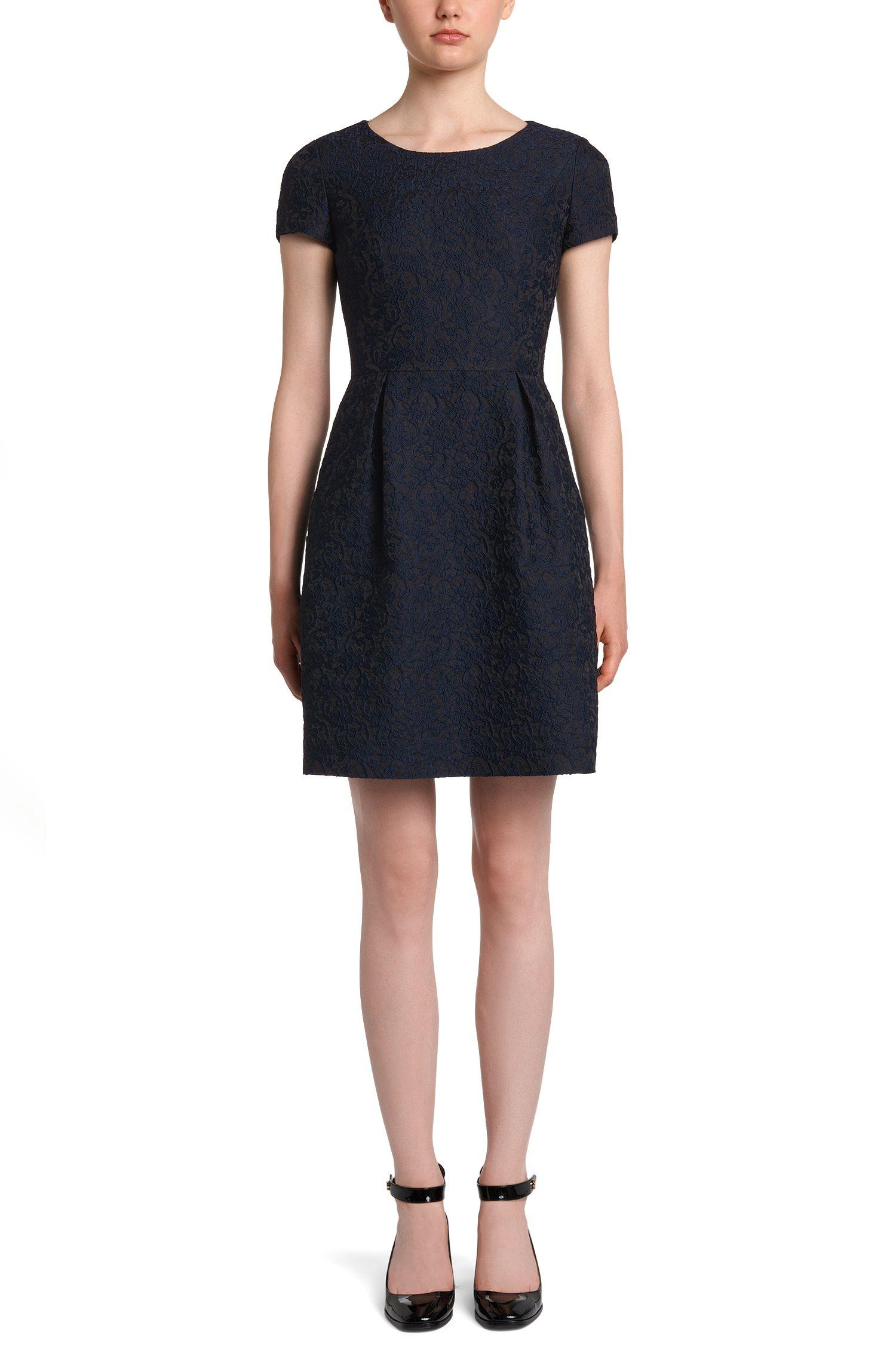 Kleid mit Allover-Muster: 'Kayley'
