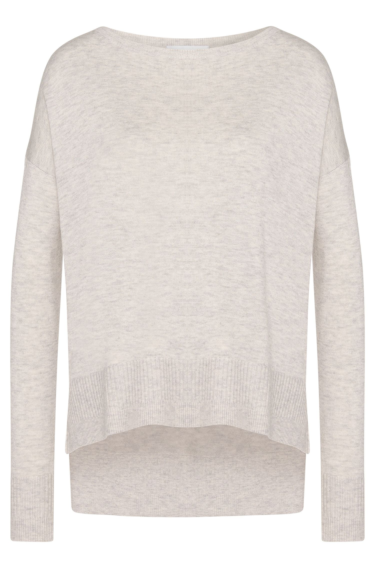Sweater in a new-wool blend with cashmere: 'Farga'