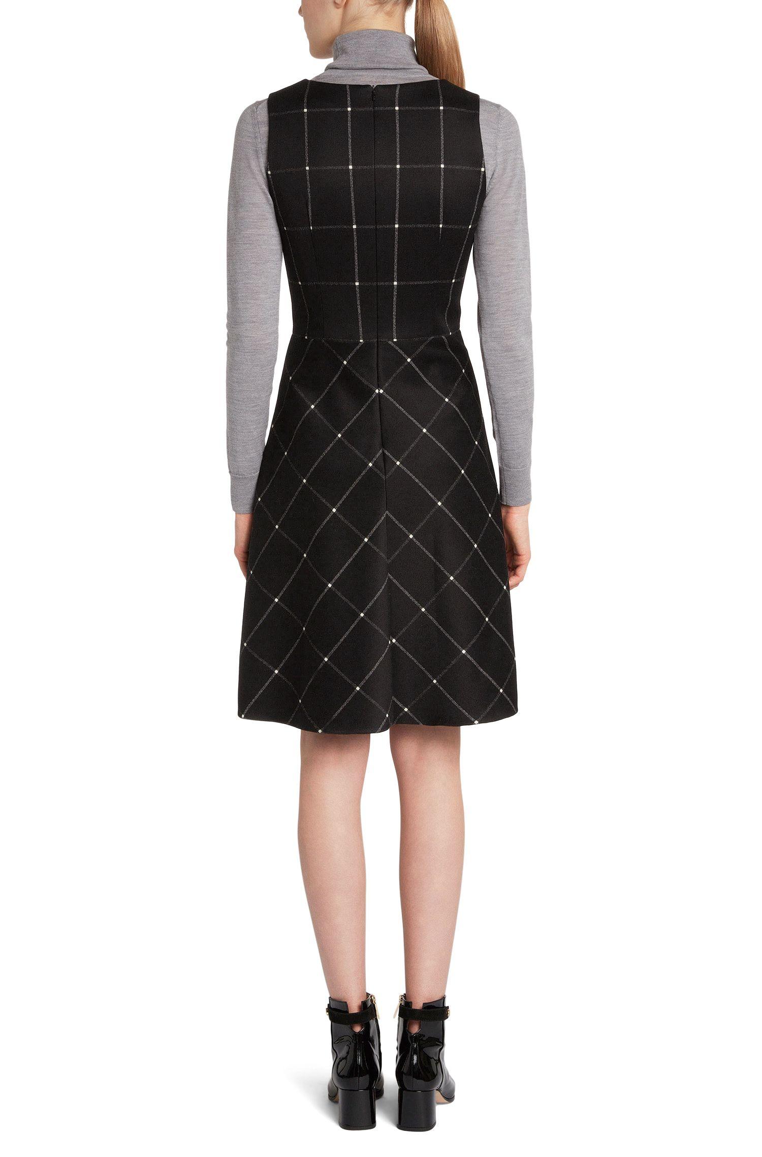 Ärmelloses Kleid aus elastischem Baumwoll-Mix: 'Kaina'