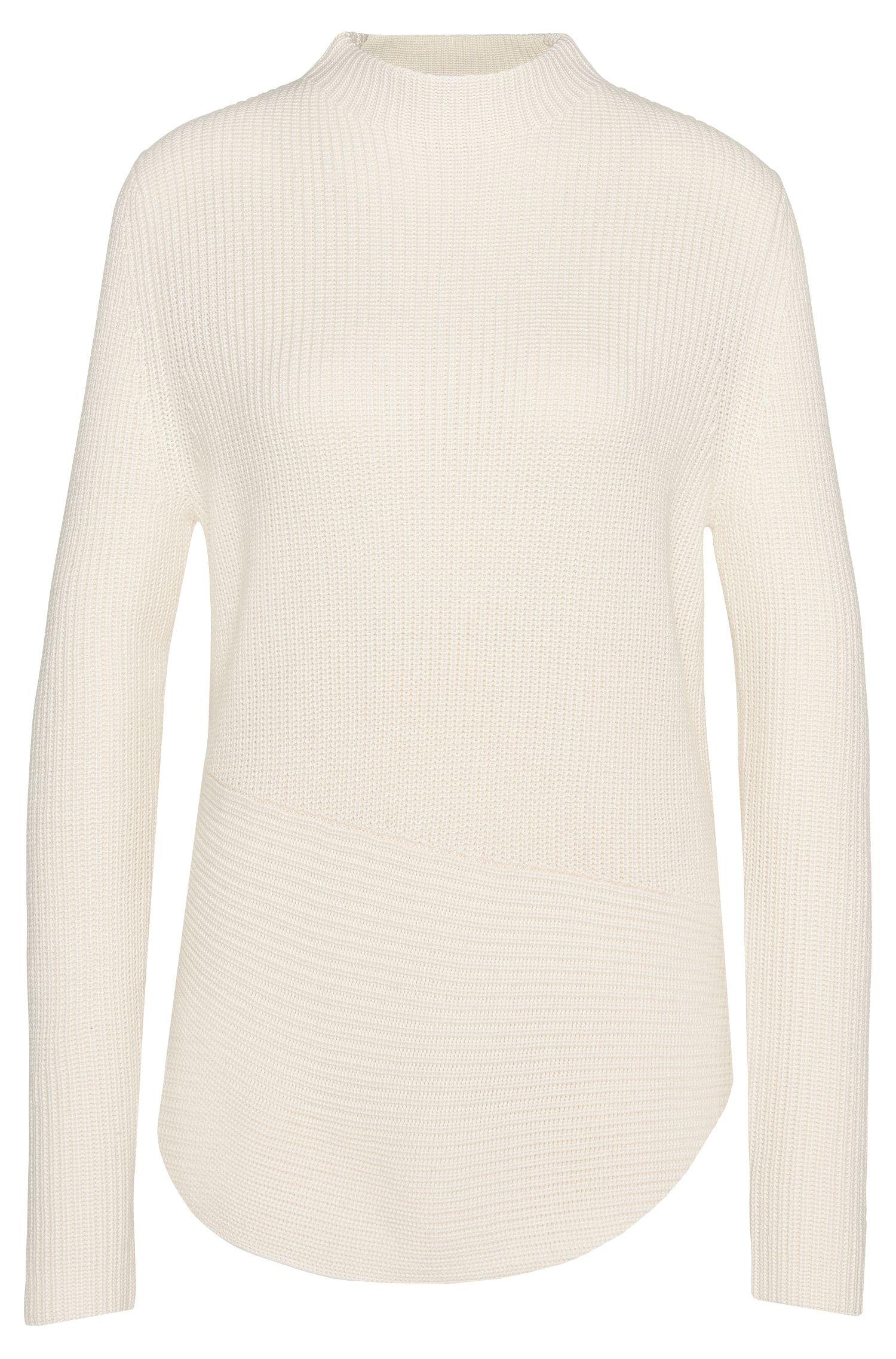 Maglione in misto lana vergine con percentuale di cashmere: 'Farile'