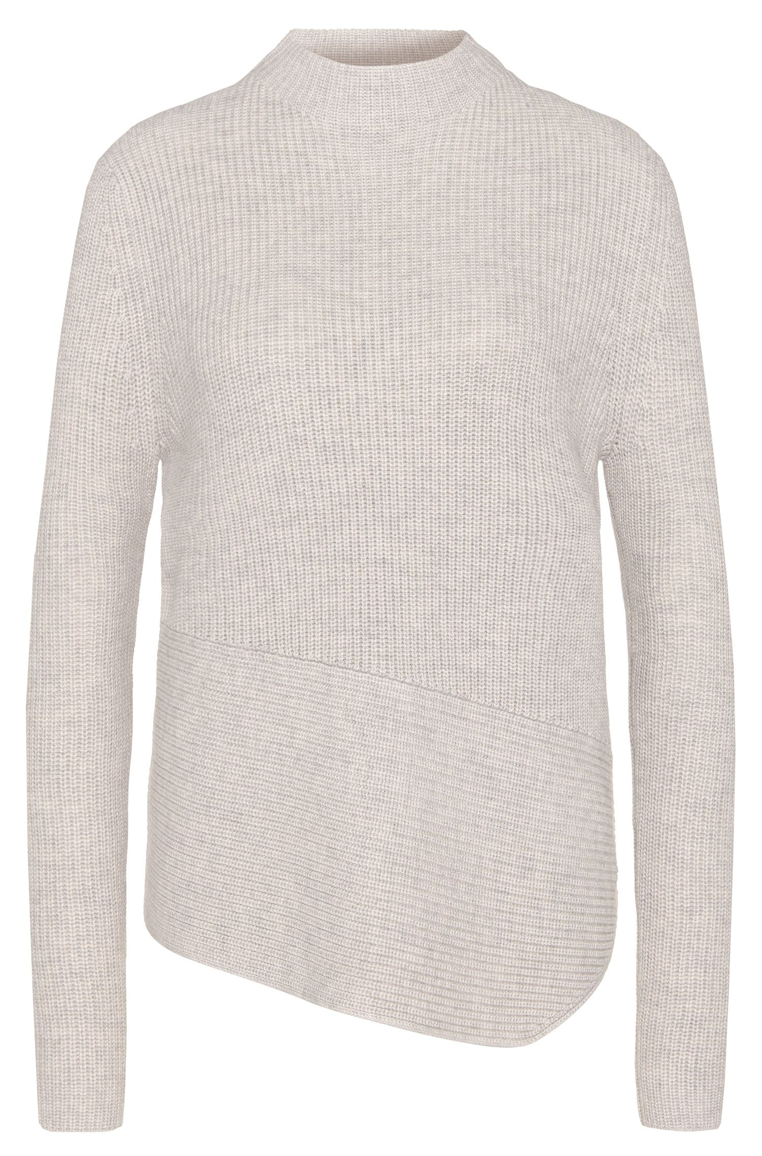 Sweater in a new-wool blend with cashmere: 'Farile'