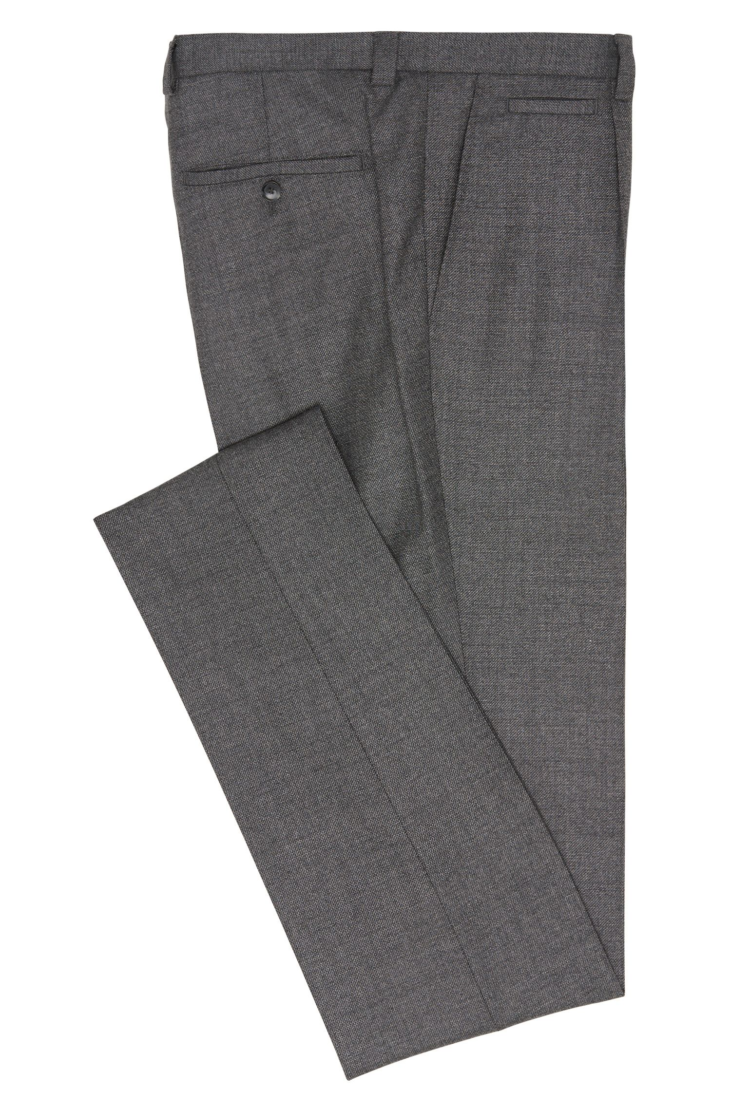 Slim-Fit Tailored Hose aus reiner Schurwolle: 'T-Britton'