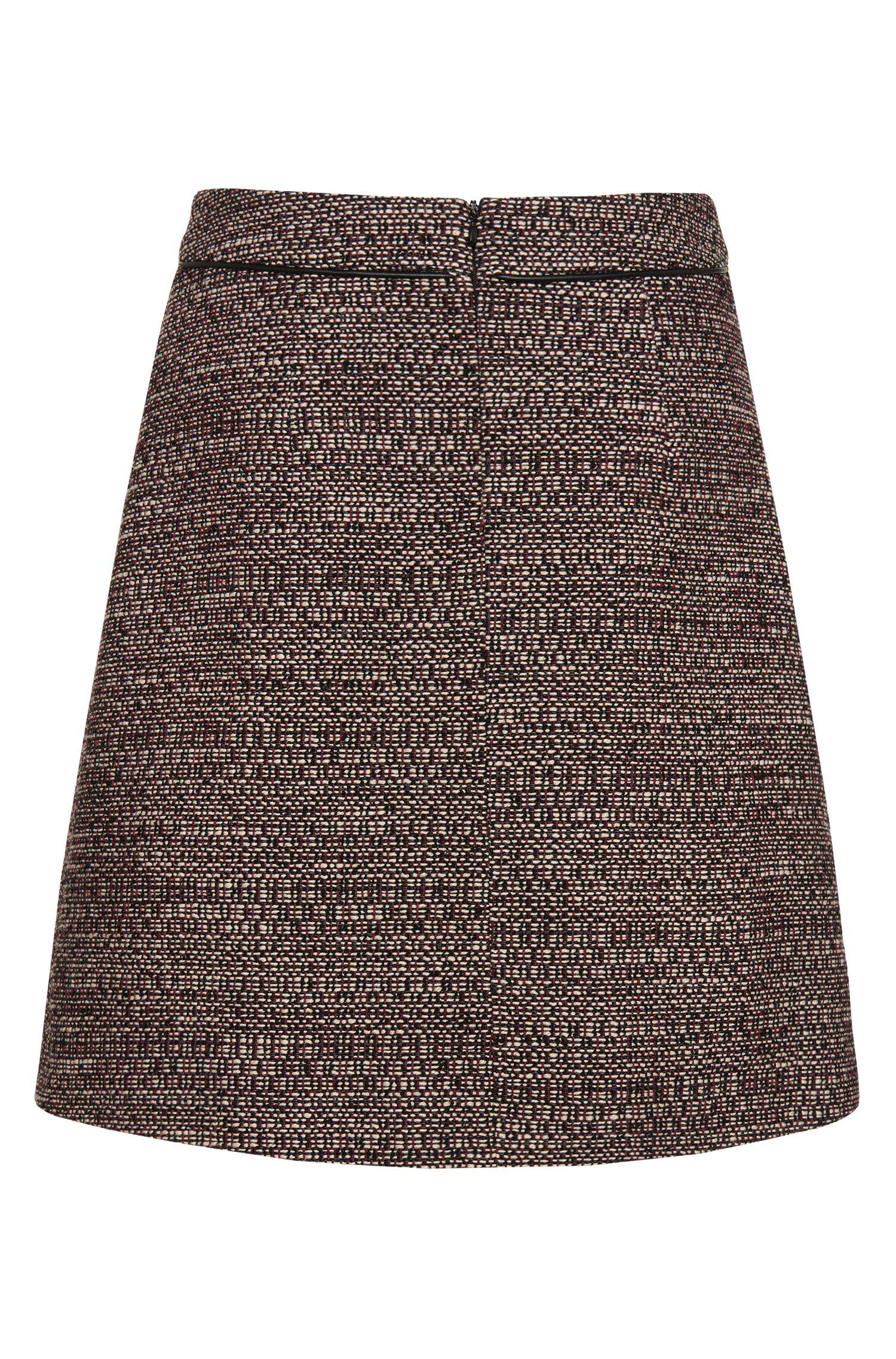 Jupe en coton mélangé de style bouclette: «Rochell»