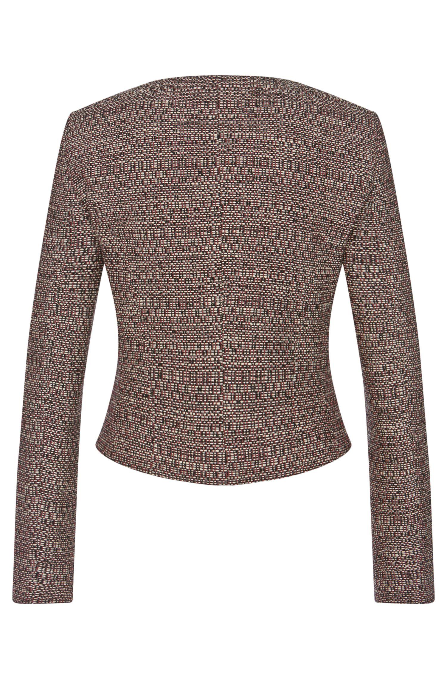 Straight-Fit Blazer aus Baumwoll-Mix mit Schurwolle: 'Andrisa'