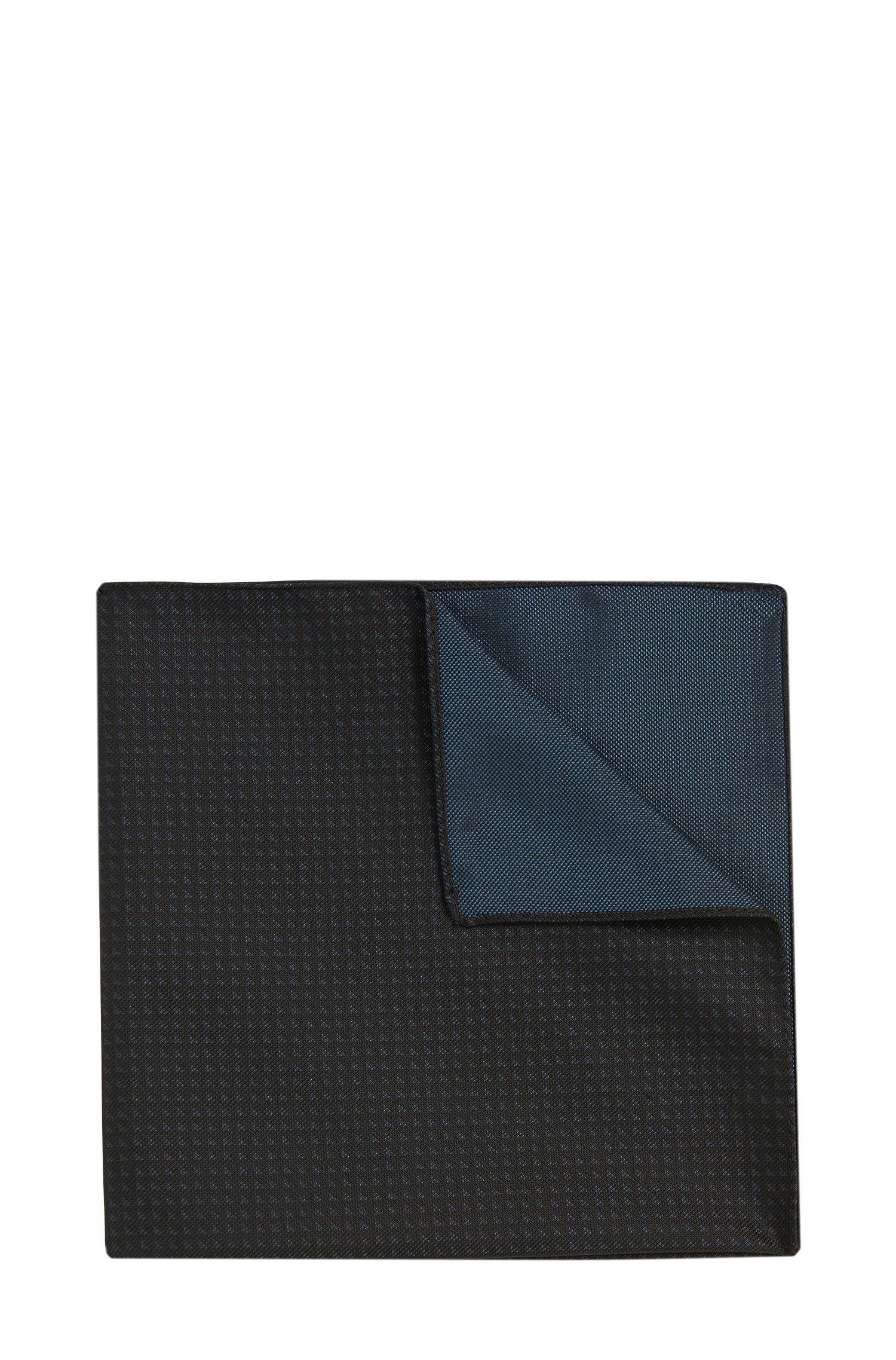 Pochet met dessin: 'Pocket sq. cm 33x33'