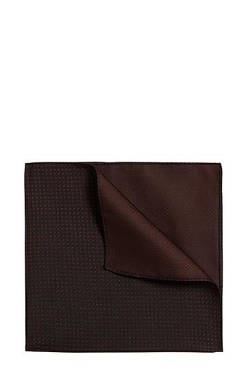 Gemustertes Einstecktuch: 'Pocket sq. cm 33x33', Rot