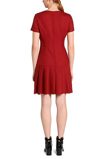 Kleid mit herabgesetzter Taille: 'Karole', Hellrot