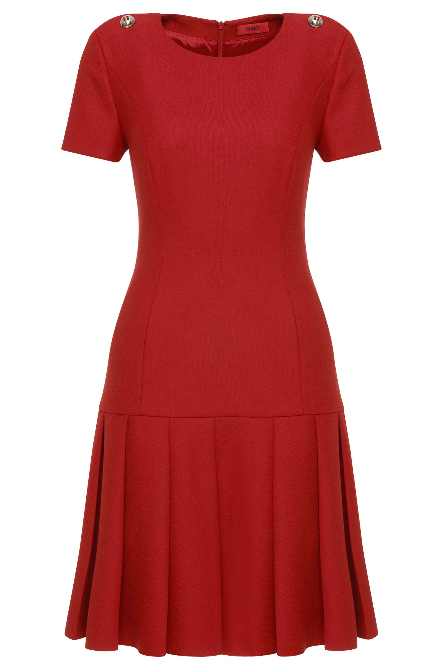 Dress with low waist: 'Karole'